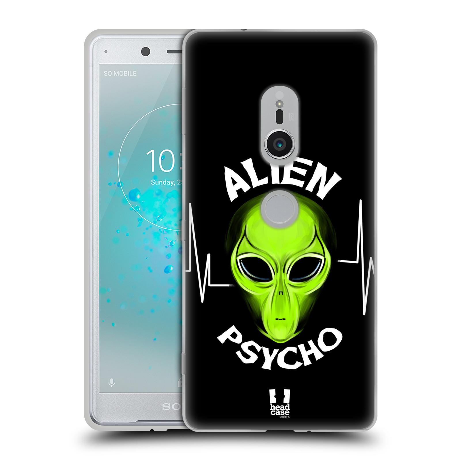 Silikonové pouzdro na mobil Sony Xperia XZ2 - Head Case - ALIENS PSYCHO