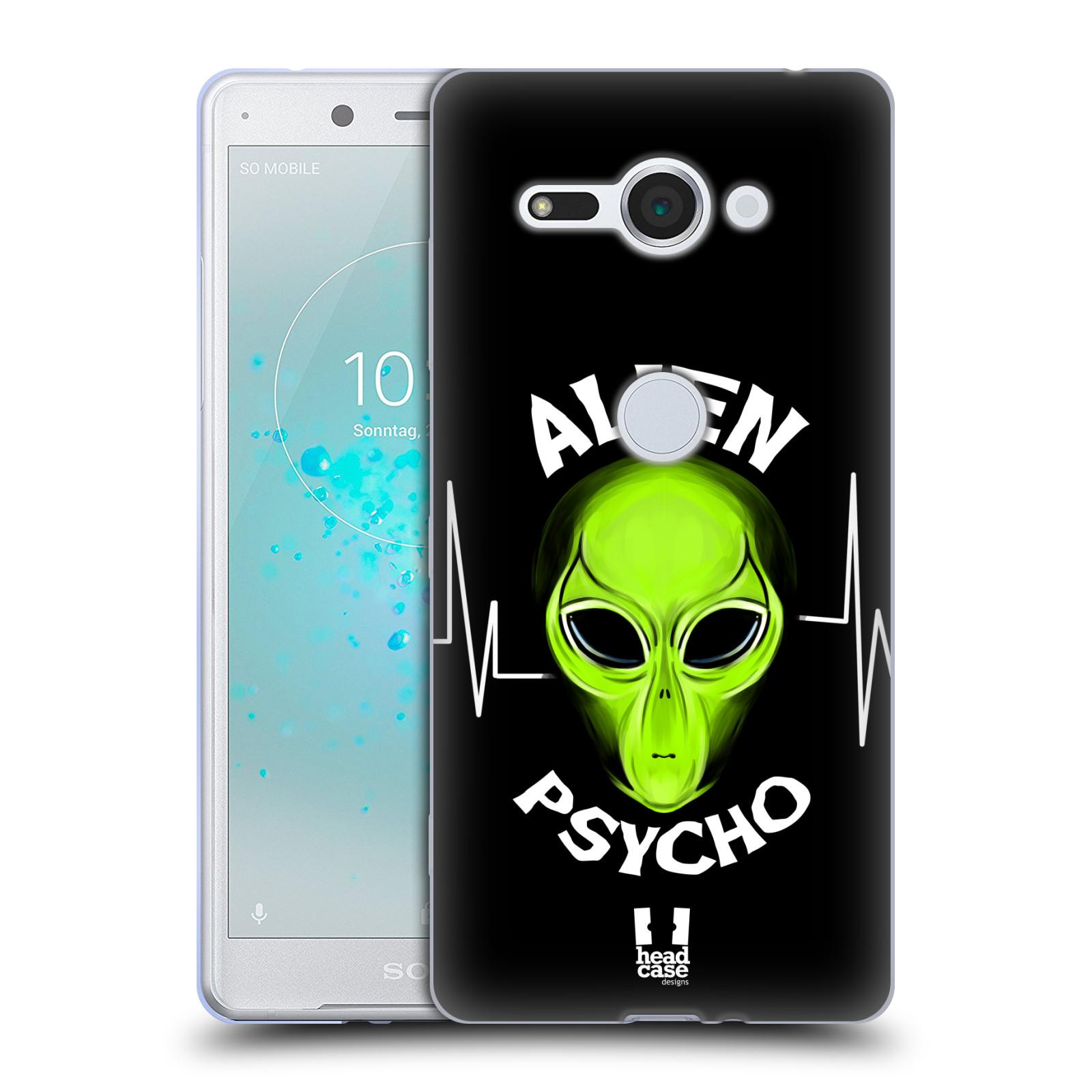 Silikonové pouzdro na mobil Sony Xperia XZ2 Compact - Head Case - ALIENS PSYCHO