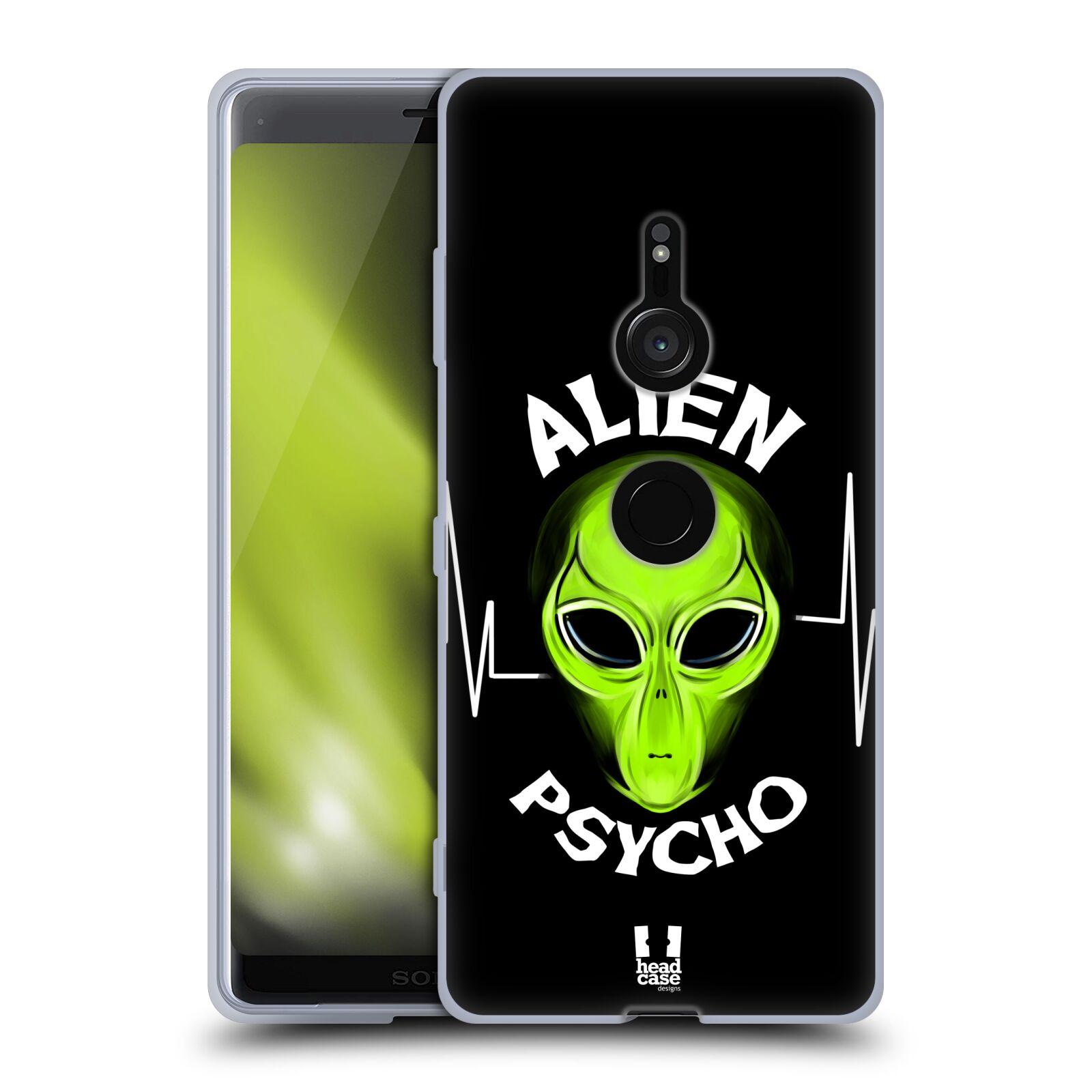 Silikonové pouzdro na mobil Sony Xperia XZ3 - Head Case - ALIENS PSYCHO