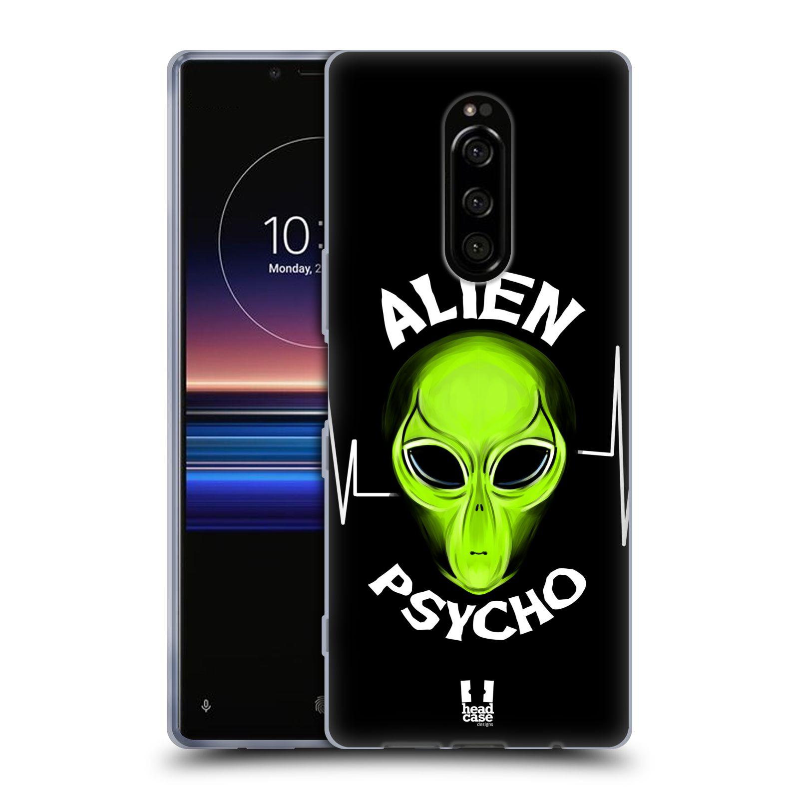 Silikonové pouzdro na mobil Sony Xperia 1 - Head Case - ALIENS PSYCHO