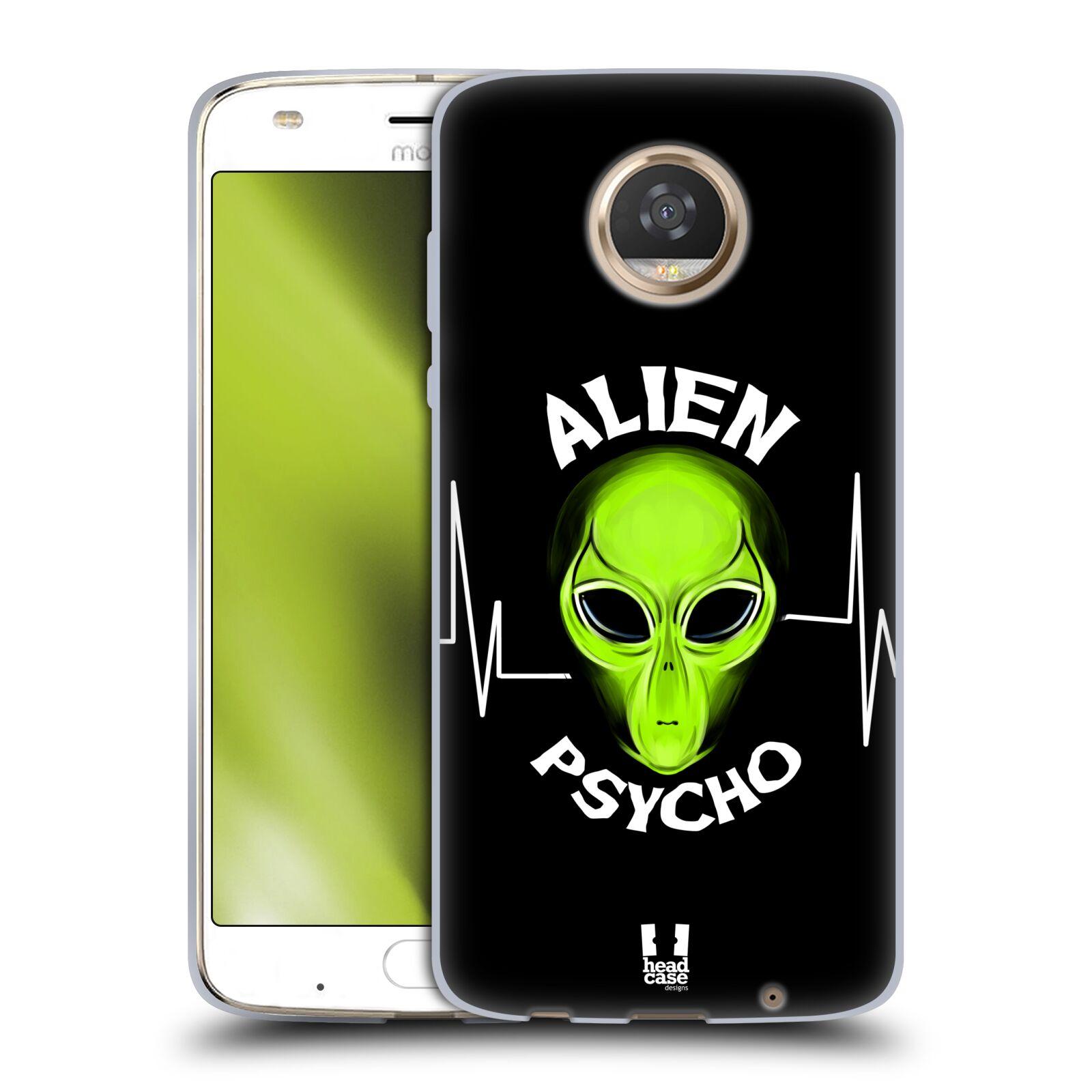 Silikonové pouzdro na mobil Lenovo Moto Z2 Play - Head Case - ALIENS PSYCHO