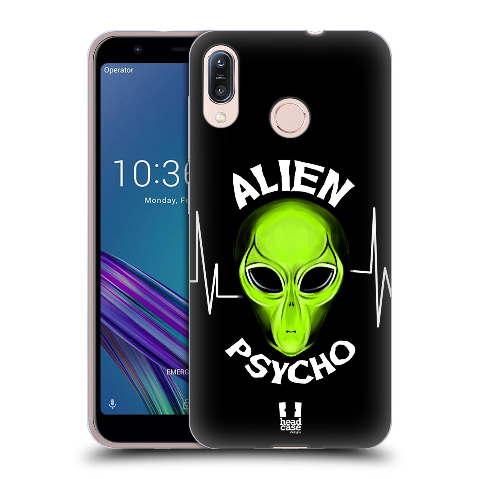 Silikonové pouzdro na mobil Asus Zenfone Max M1 ZB555KL - Head Case - ALIENS PSYCHO