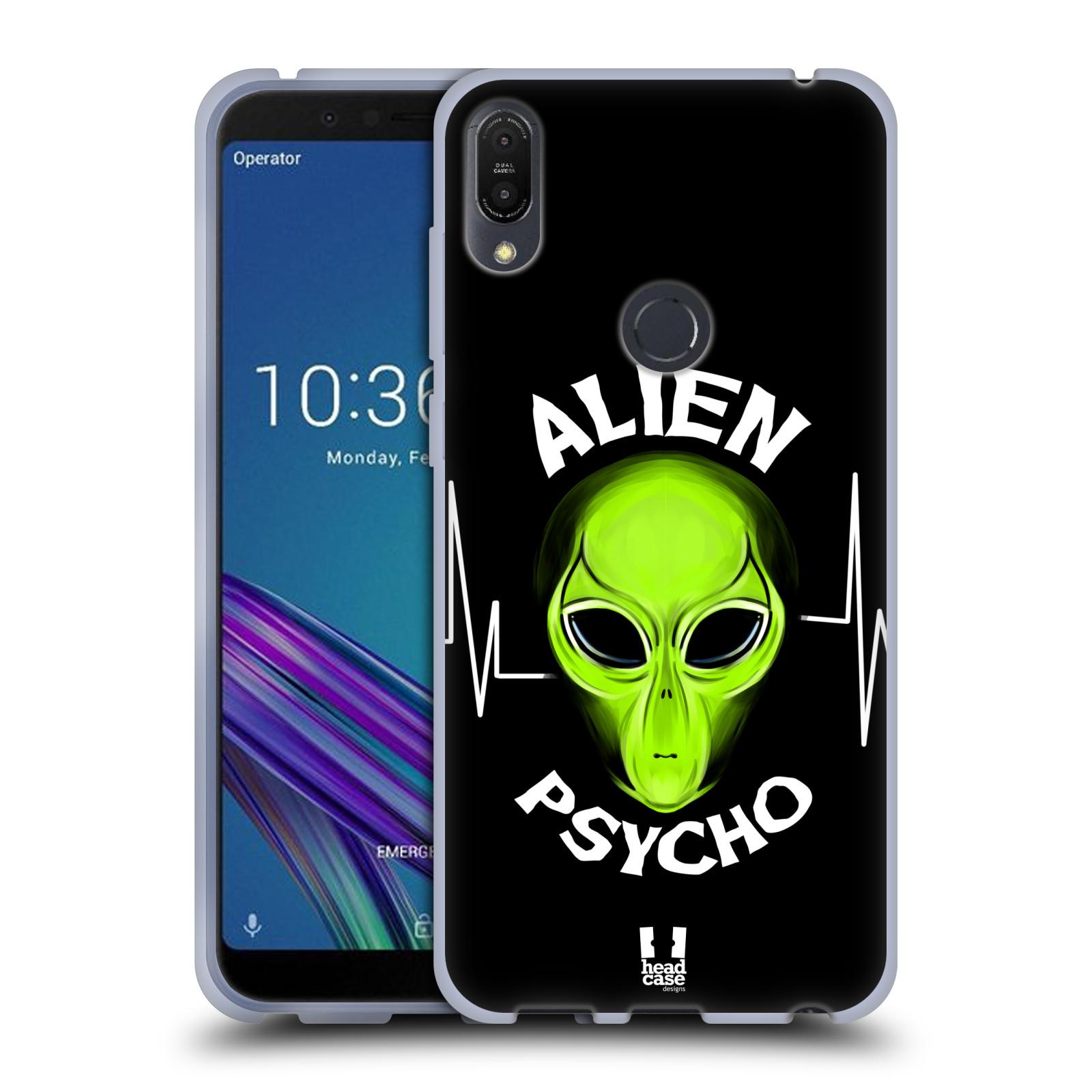 Silikonové pouzdro na mobil Asus ZenFone Max Pro (M1) - Head Case - ALIENS PSYCHO