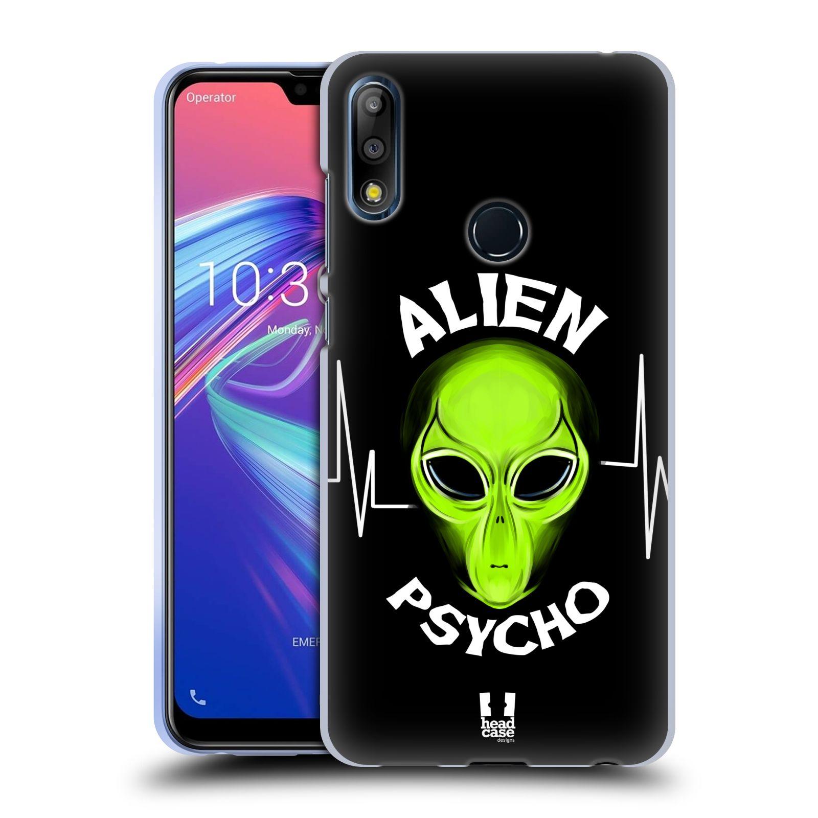 Silikonové pouzdro na mobil Asus Zenfone Max Pro M2 ZB631KL - Head Case - ALIENS PSYCHO