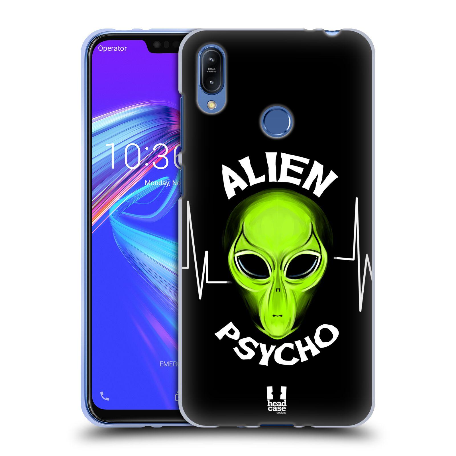 Silikonové pouzdro na mobil Asus Zenfone Max (M2) ZB633KL - Head Case - ALIENS PSYCHO