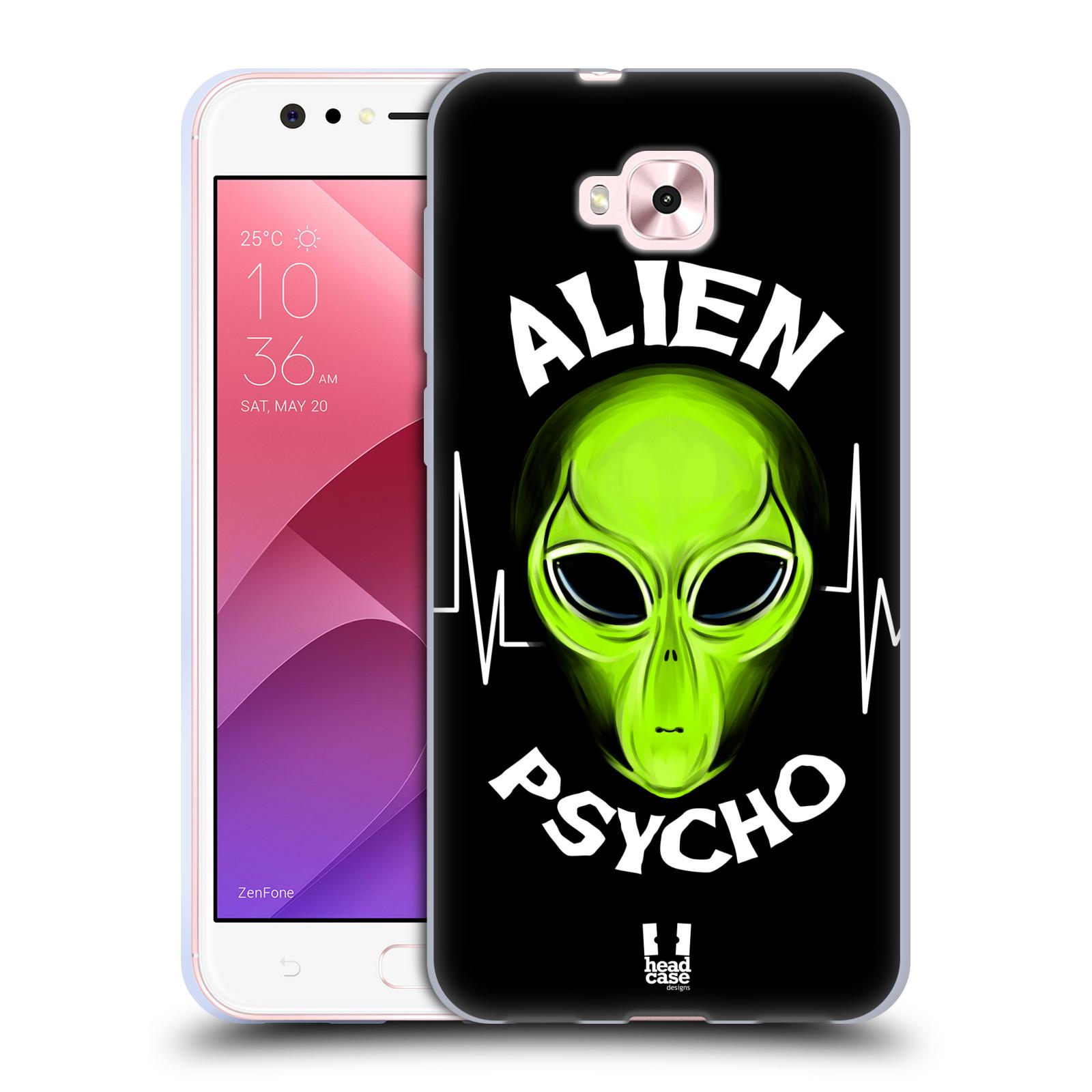 Silikonové pouzdro na mobil Asus Zenfone 4 Selfie ZD553KL - Head Case - ALIENS PSYCHO
