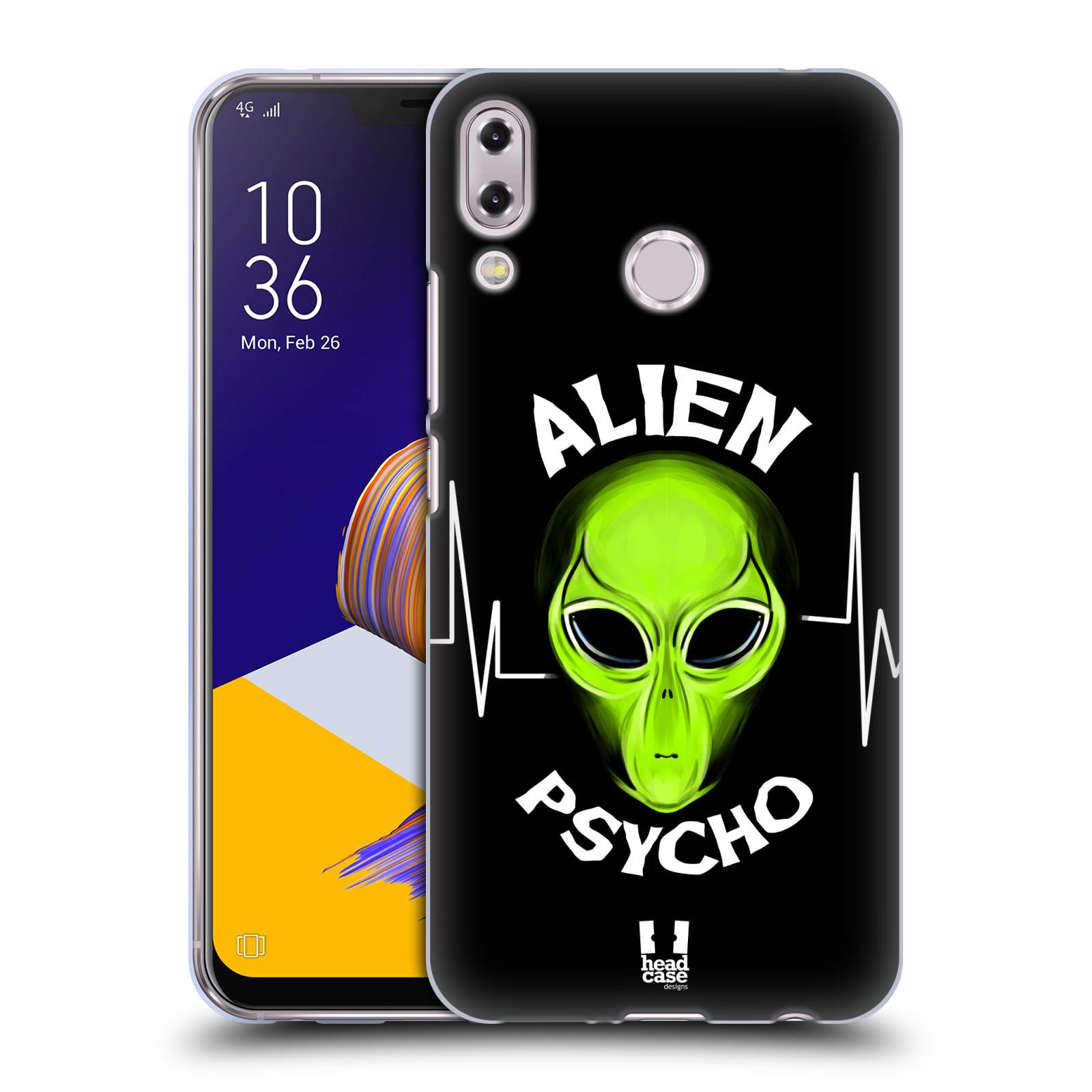 Silikonové pouzdro na mobil Asus ZenFone 5 ZE620KL - Head Case - ALIENS PSYCHO