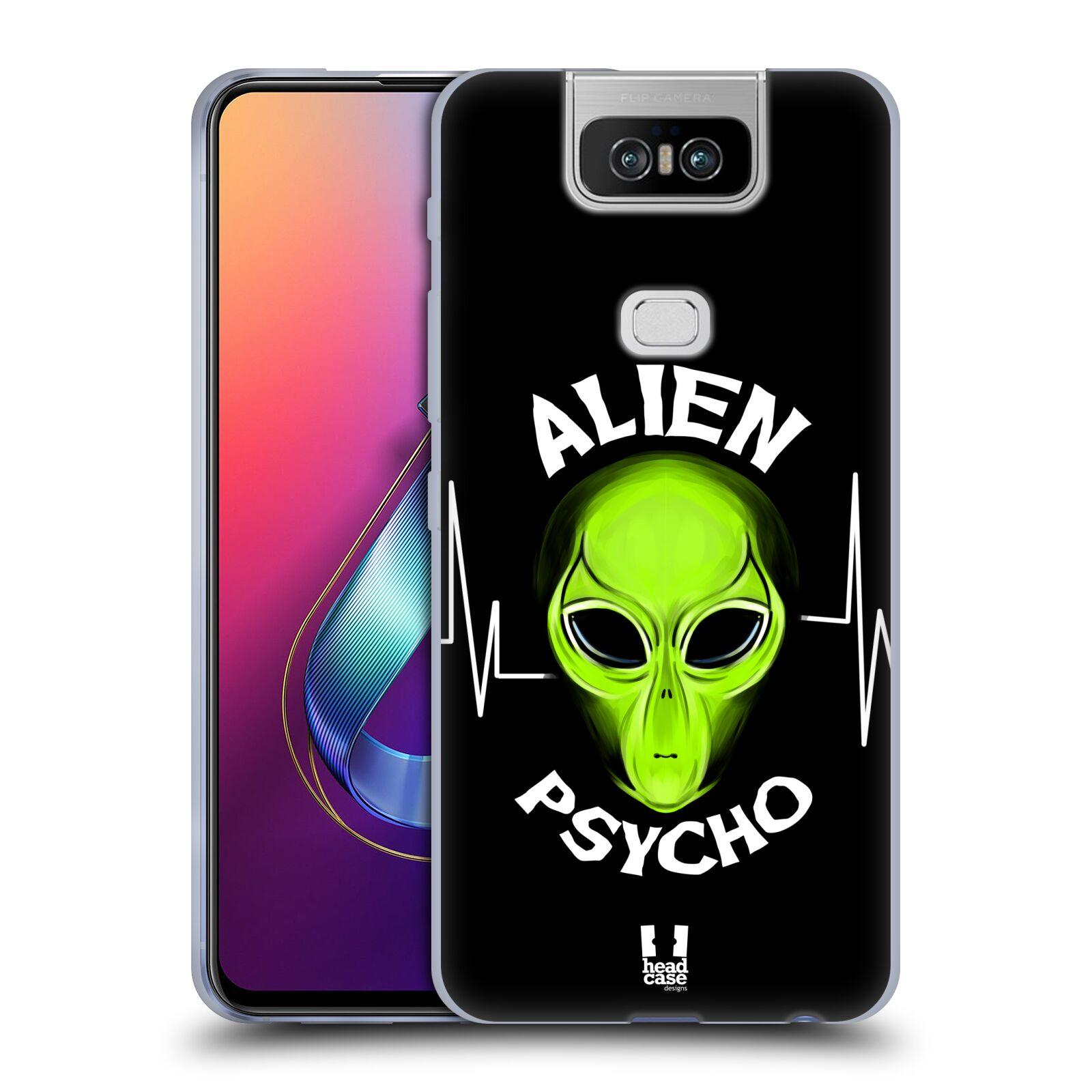 Silikonové pouzdro na mobil Asus Zenfone 6 ZS630KL - Head Case - ALIENS PSYCHO