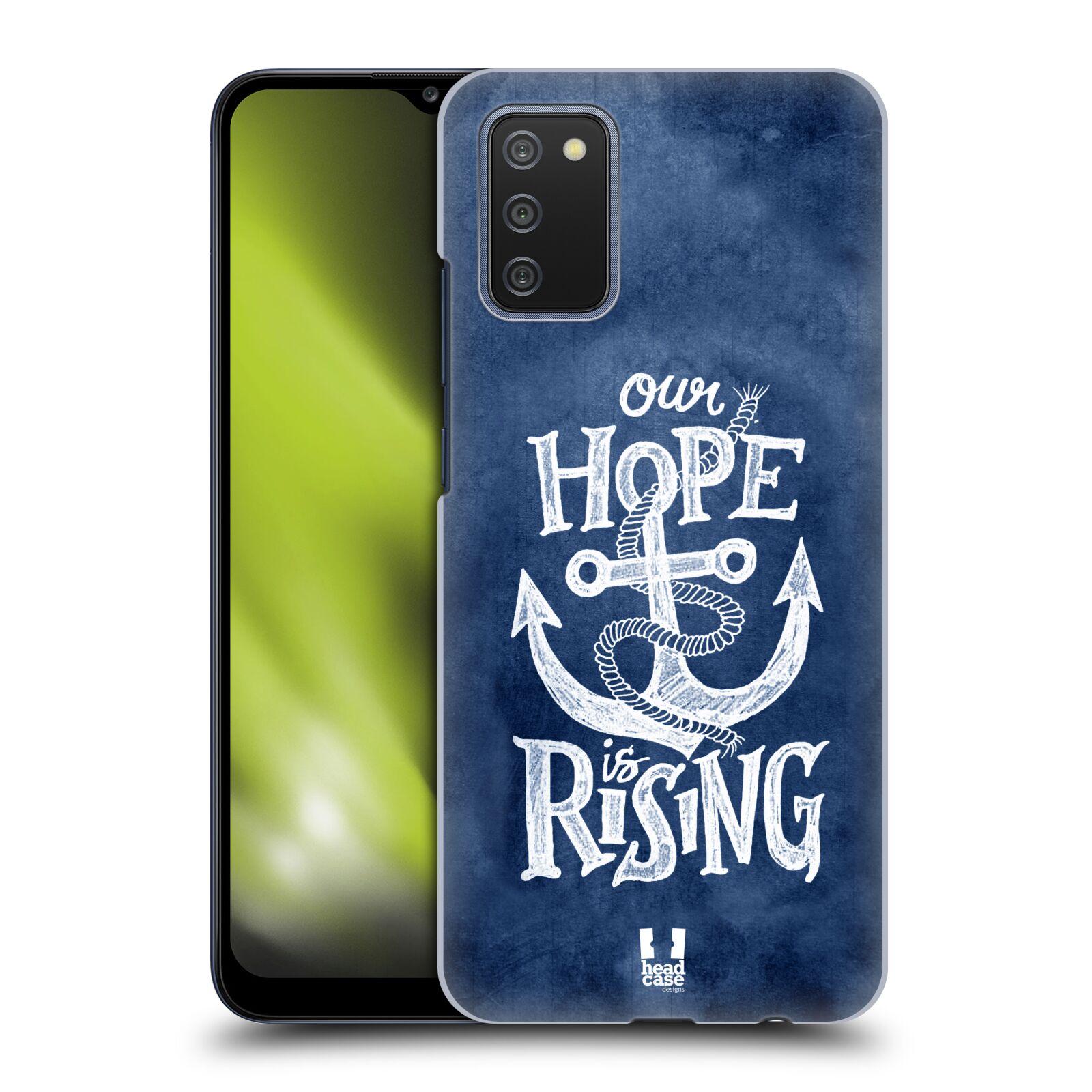 Plastové pouzdro na mobil Samsung Galaxy A02s - Head Case - KOTVA RISING