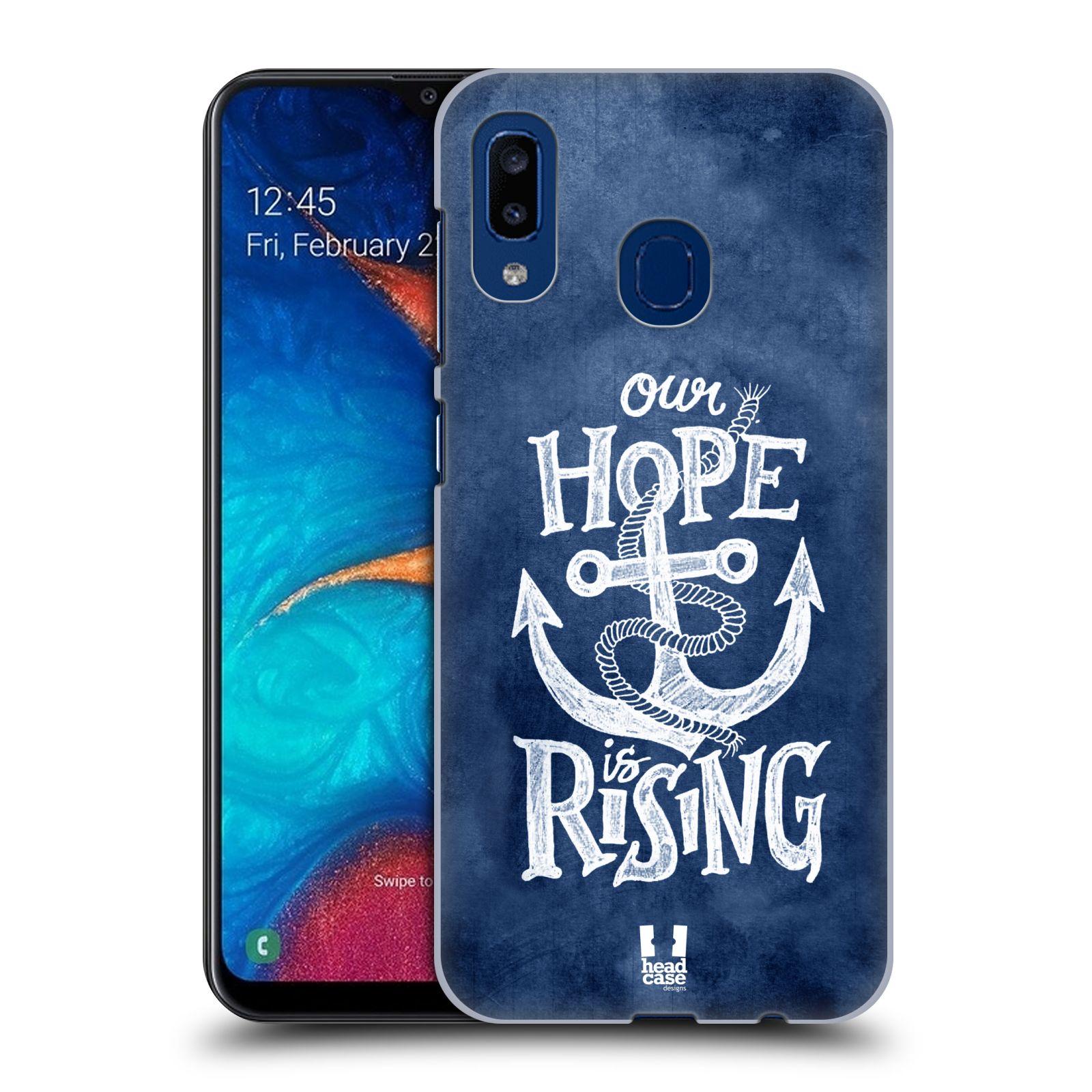 Plastové pouzdro na mobil Samsung Galaxy A20 - Head Case - KOTVA RISING
