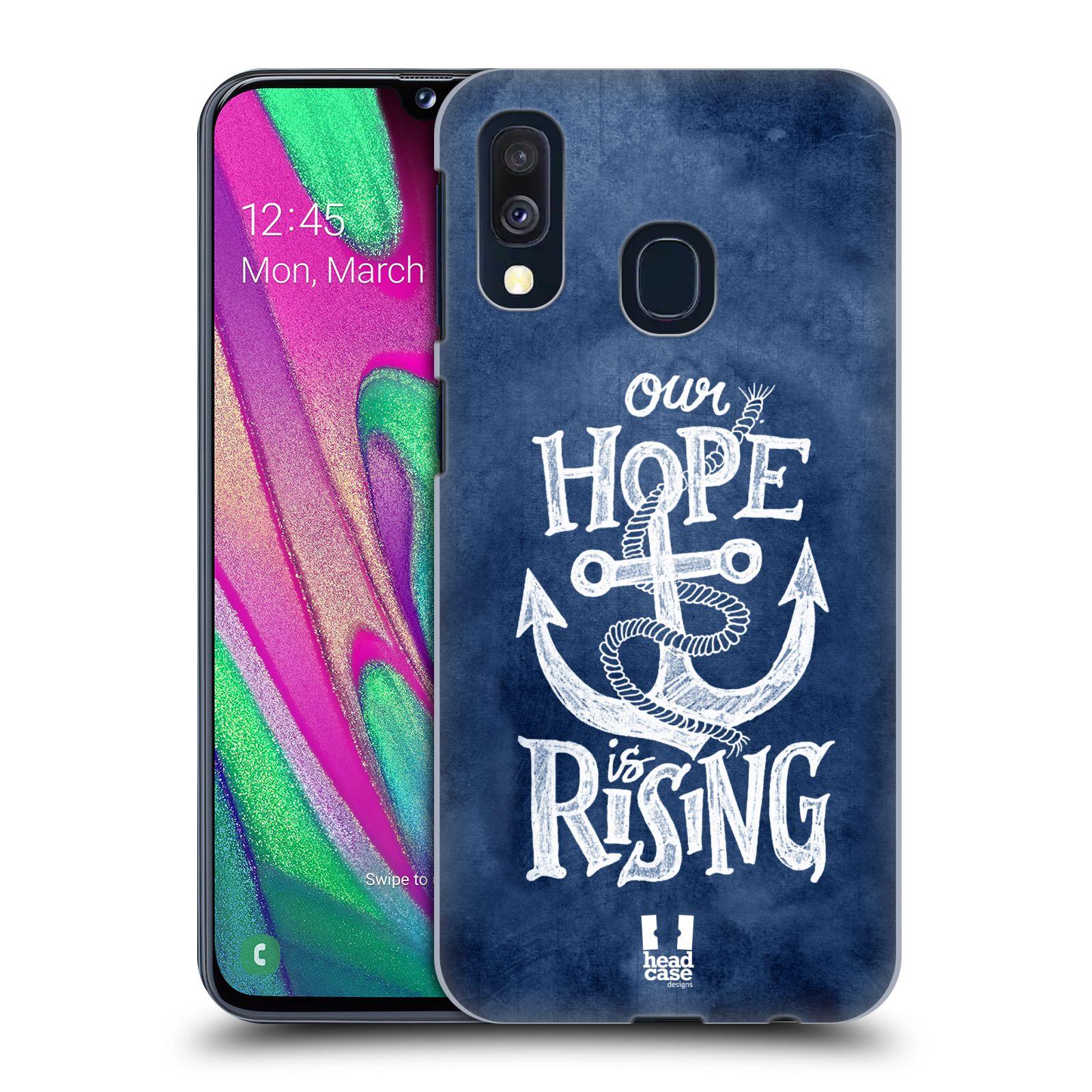 Plastové pouzdro na mobil Samsung Galaxy A40 - Head Case - KOTVA RISING