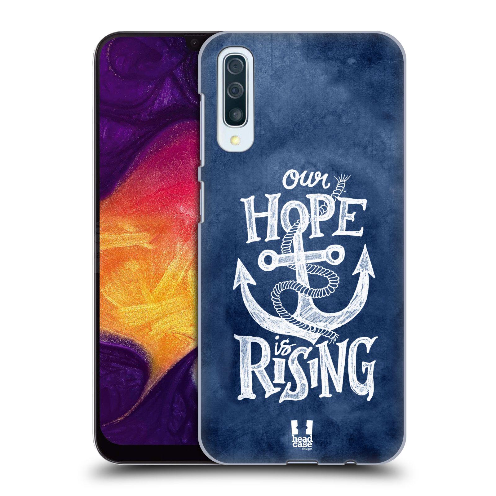 Plastové pouzdro na mobil Samsung Galaxy A50 - Head Case - KOTVA RISING