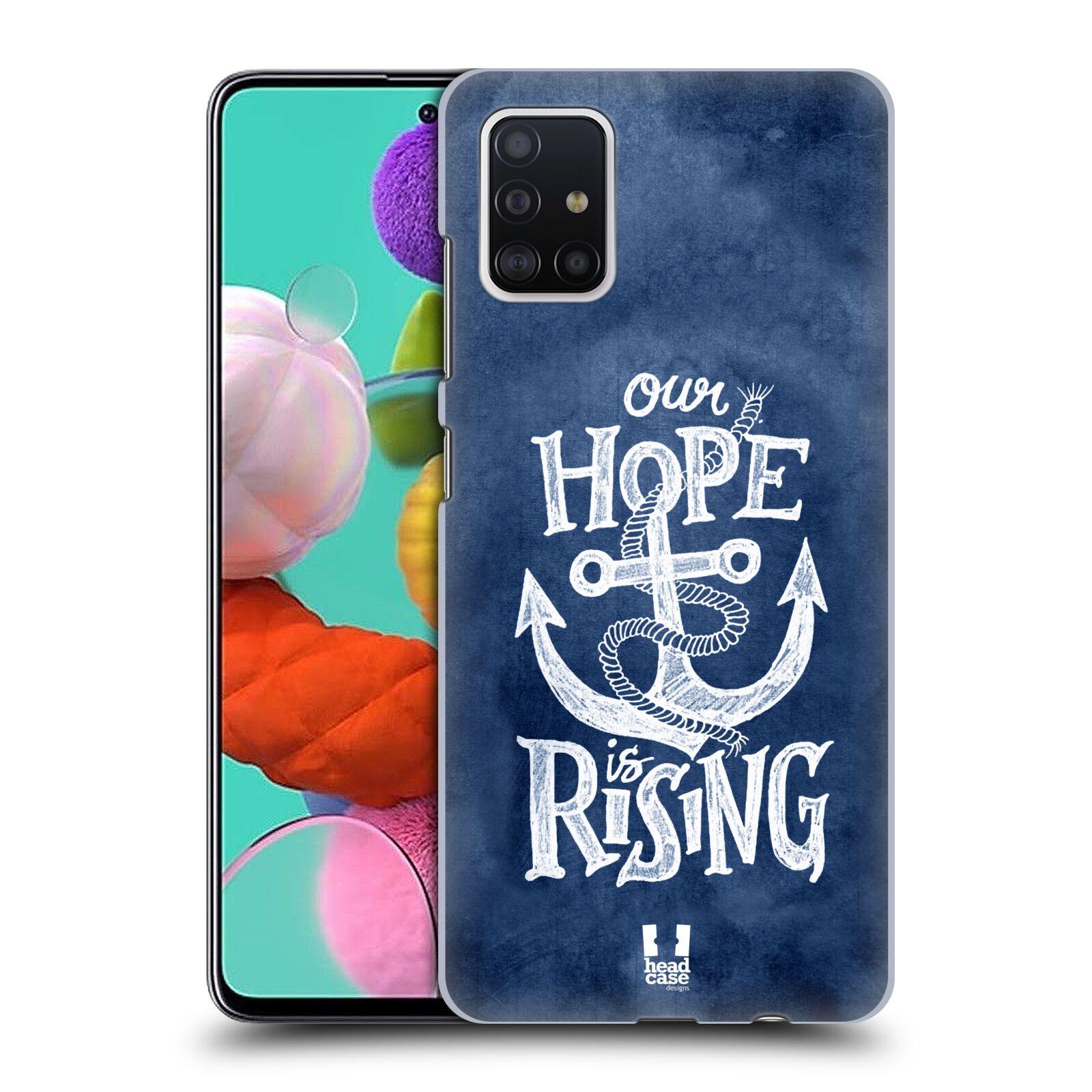 Plastové pouzdro na mobil Samsung Galaxy A51 - Head Case - KOTVA RISING