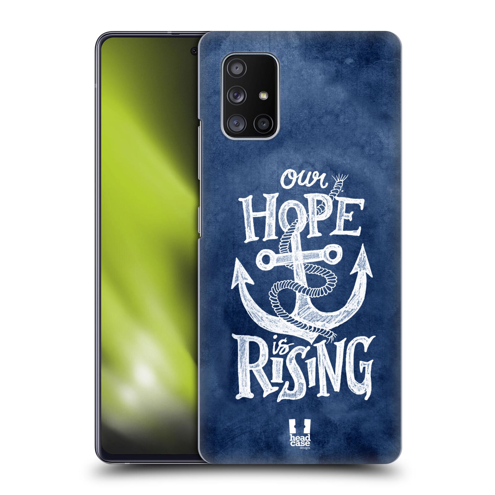 Plastové pouzdro na mobil Samsung Galaxy A51 5G - Head Case - KOTVA RISING