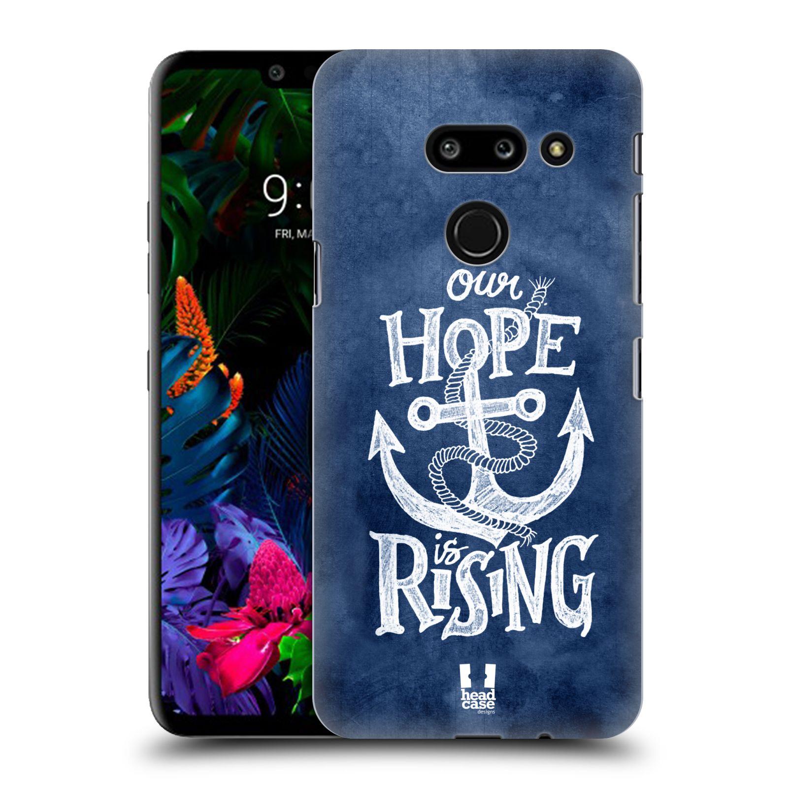Plastové pouzdro na mobil LG G8 ThinQ - Head Case - KOTVA RISING