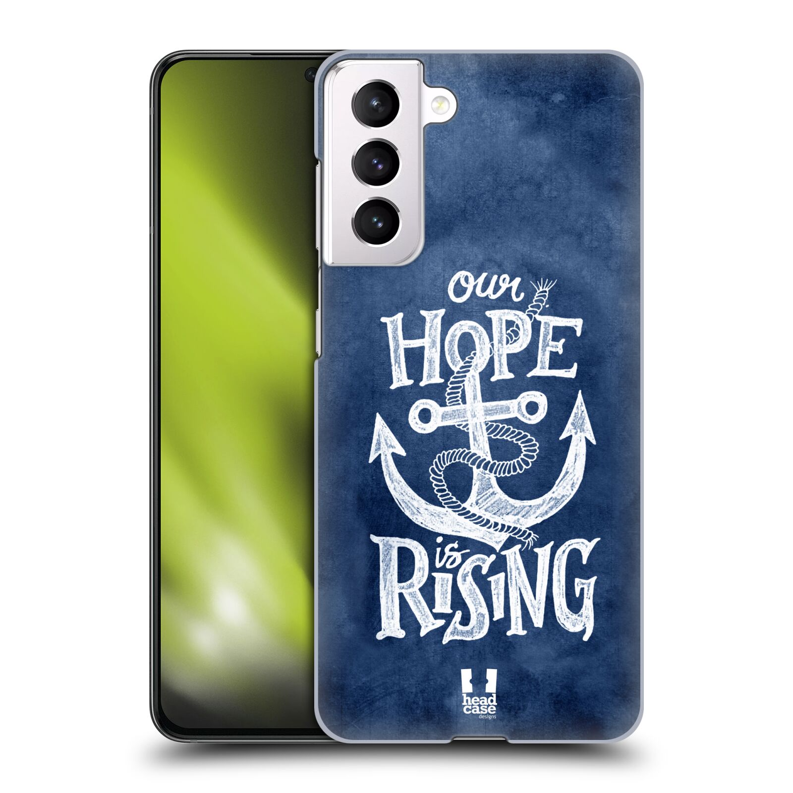 Plastové pouzdro na mobil Samsung Galaxy S21 5G - Head Case - KOTVA RISING