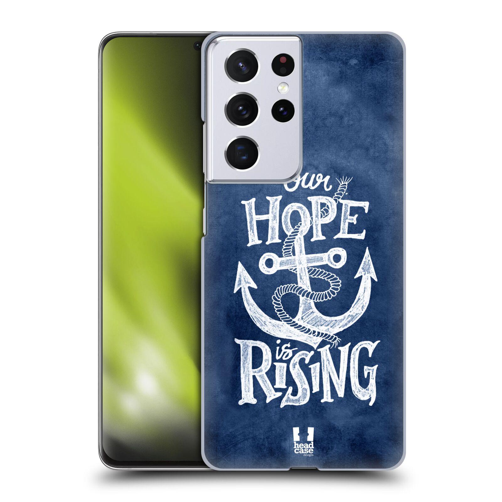Plastové pouzdro na mobil Samsung Galaxy S21 Ultra 5G - Head Case - KOTVA RISING