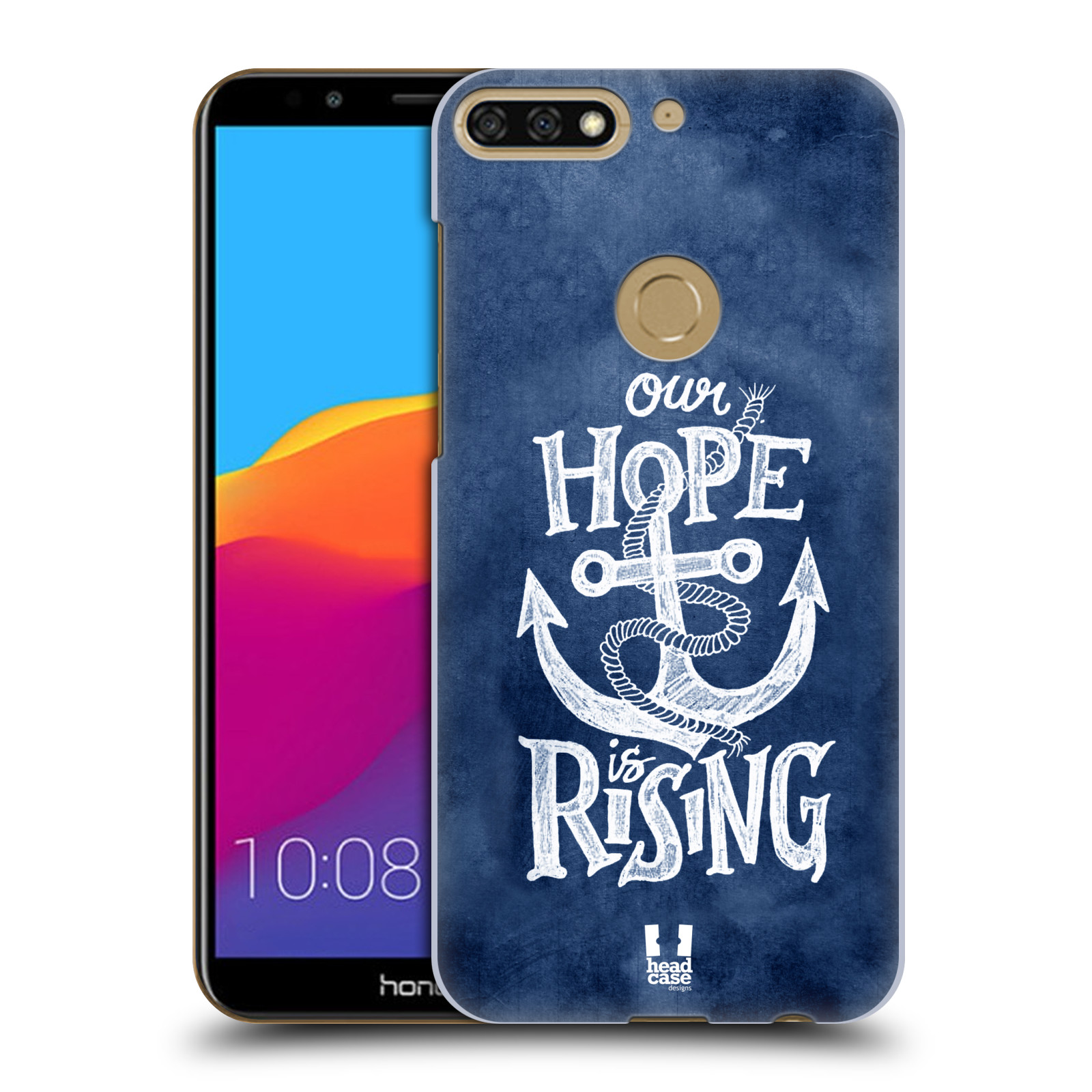 Plastové pouzdro na mobil Huawei Y7 Prime 2018 - Head Case - KOTVA RISING