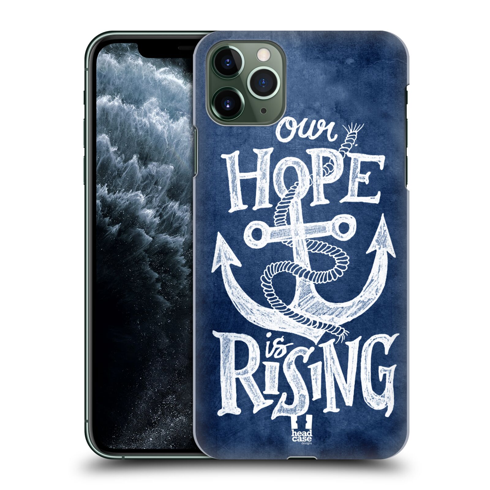 Plastové pouzdro na mobil Apple iPhone 11 Pro Max - Head Case - KOTVA RISING