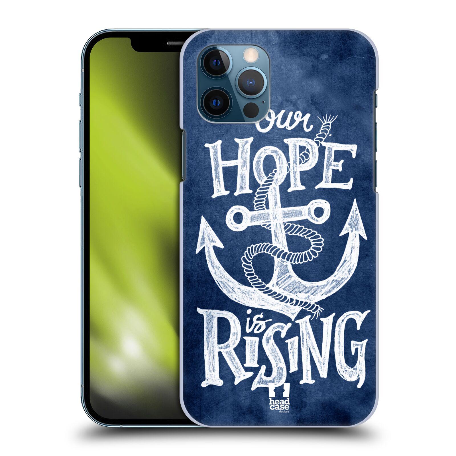Plastové pouzdro na mobil Apple iPhone 12 / 12 Pro - Head Case - KOTVA RISING