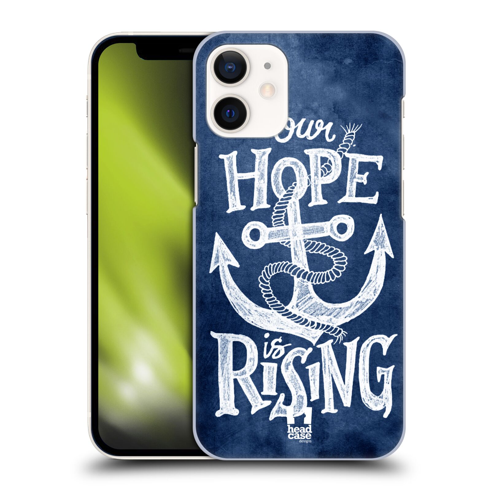 Plastové pouzdro na mobil Apple iPhone 12 Mini - Head Case - KOTVA RISING