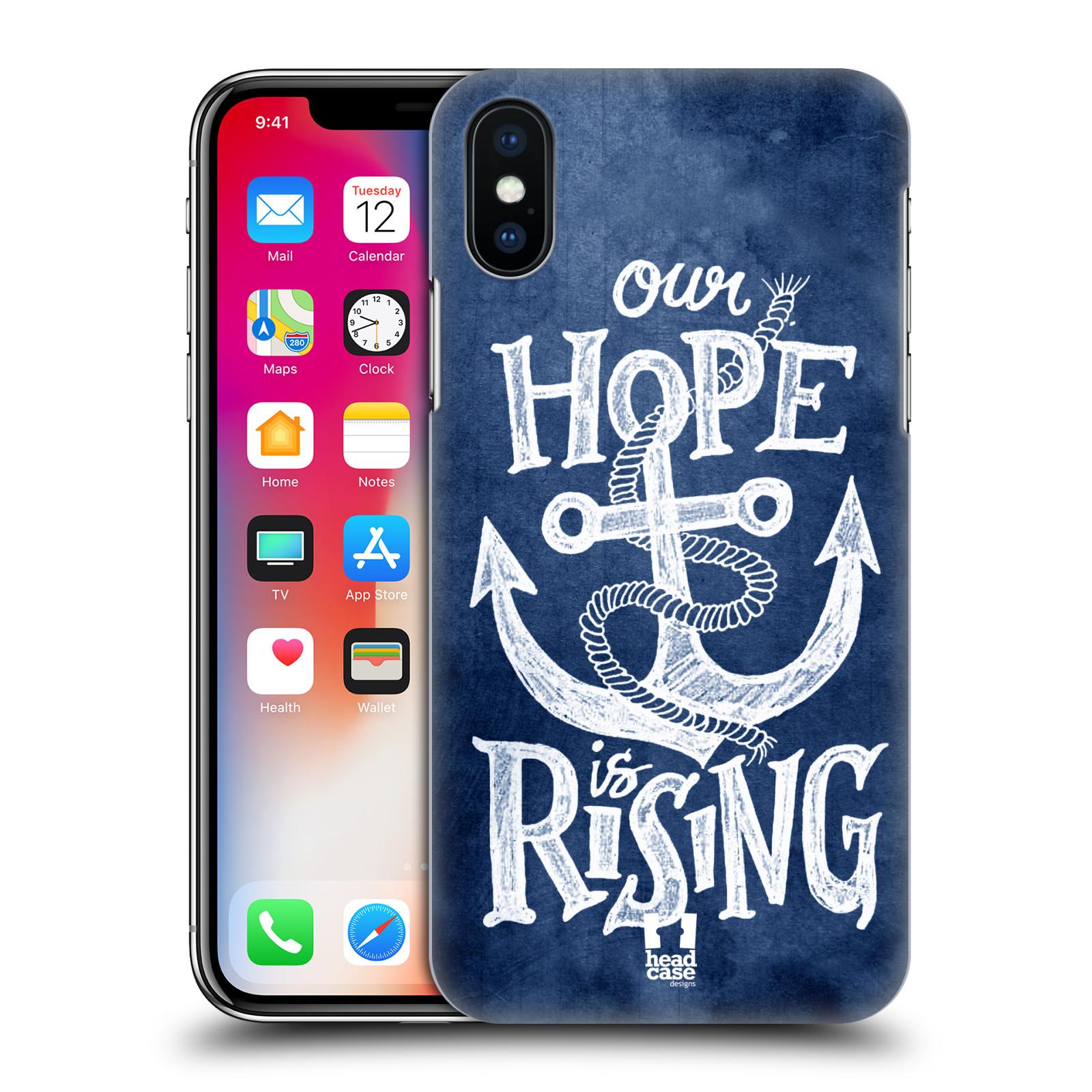 Plastové pouzdro na mobil Apple iPhone X - Head Case - KOTVA RISING