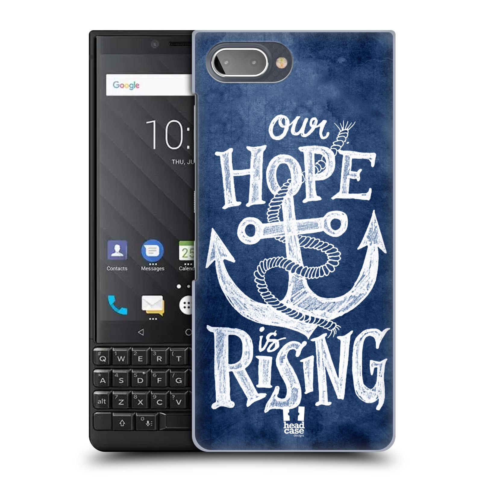 Plastové pouzdro na mobil Blackberry Key 2 - Head Case - KOTVA RISING