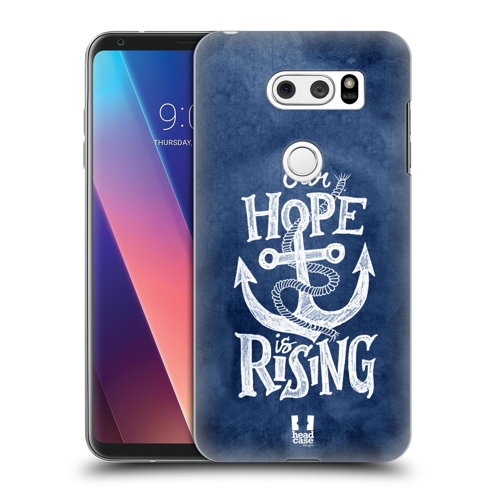 Plastové pouzdro na mobil LG V30 - Head Case - KOTVA RISING