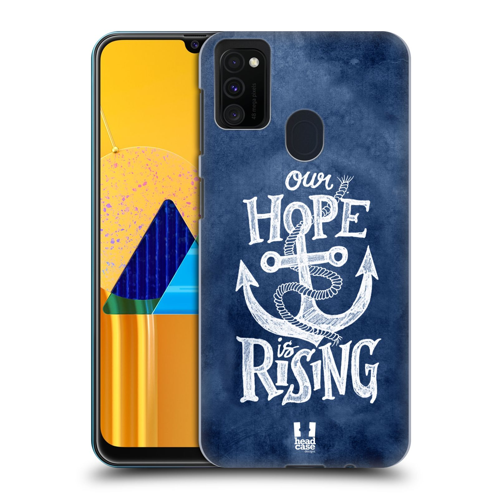 Plastové pouzdro na mobil Samsung Galaxy M21 - Head Case - KOTVA RISING