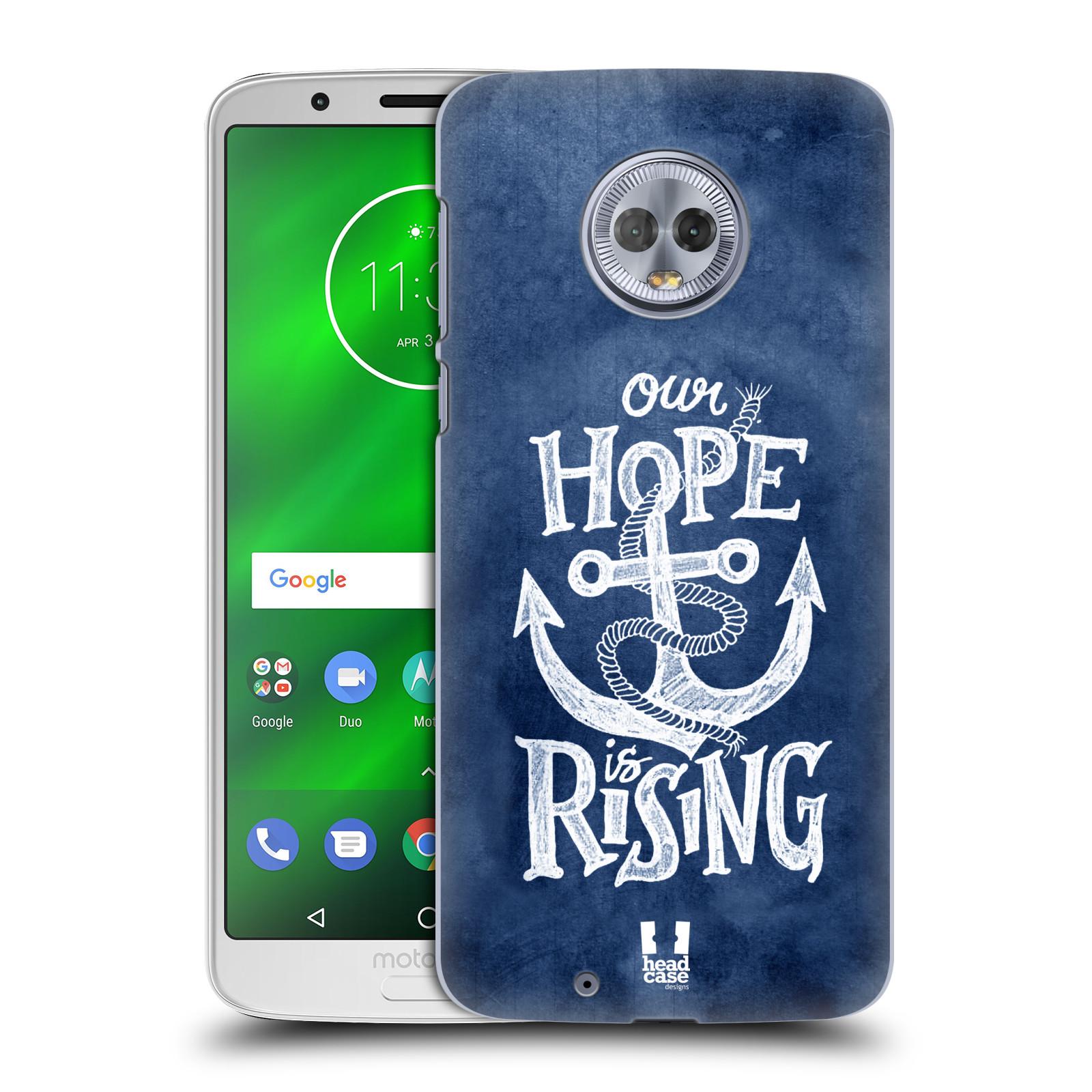 Plastové pouzdro na mobil Motorola Moto G6 - Head Case - KOTVA RISING