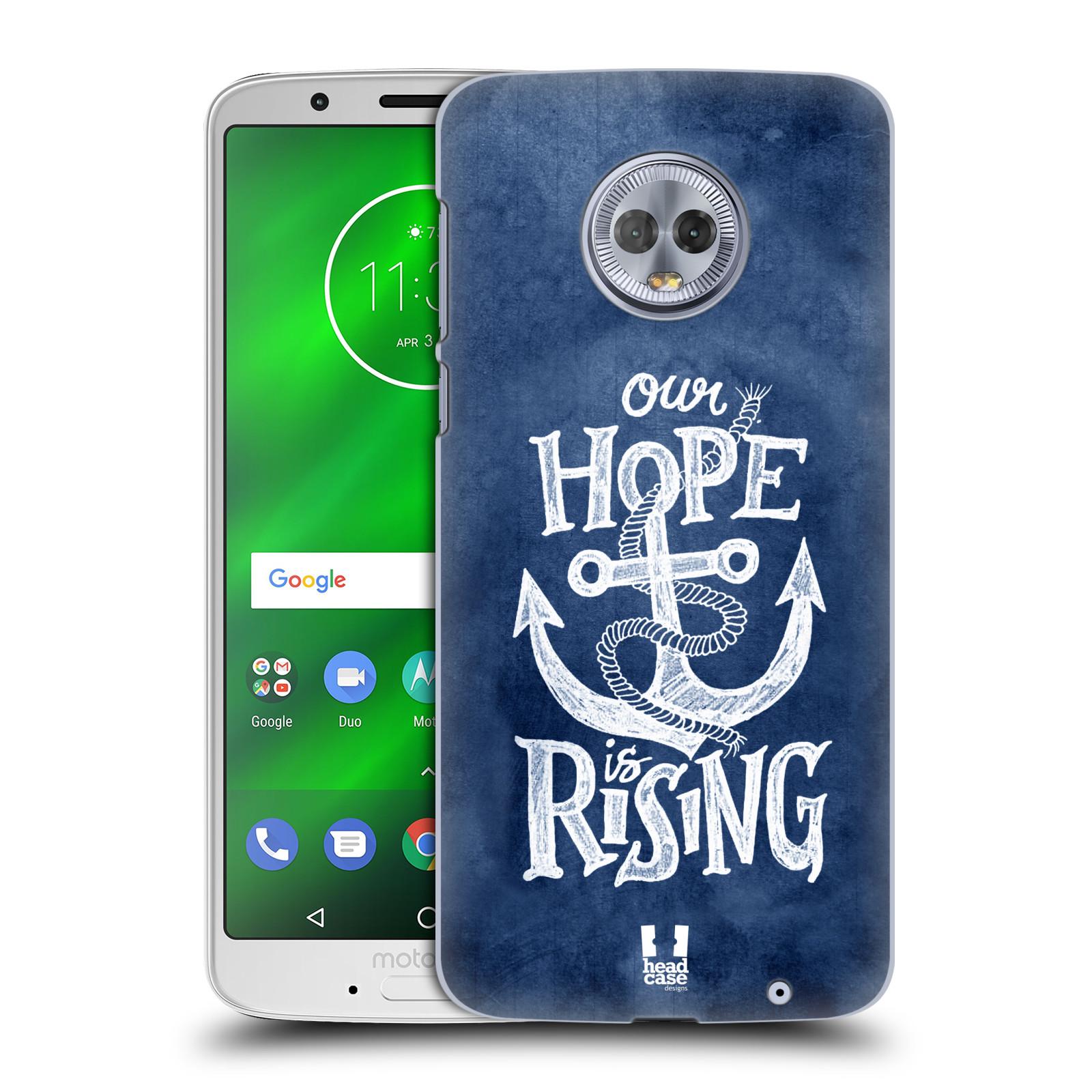 Plastové pouzdro na mobil Motorola Moto G6 Plus - Head Case - KOTVA RISING