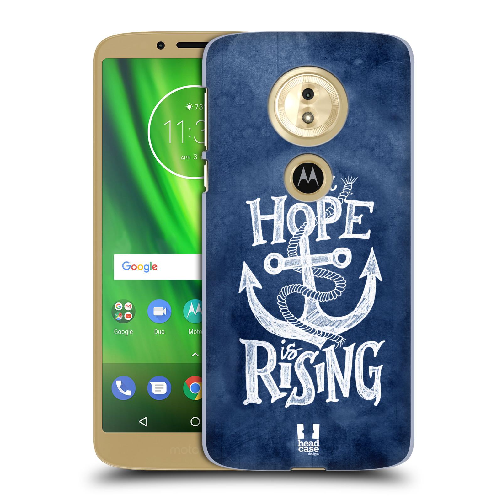 Plastové pouzdro na mobil Motorola Moto G6 Play - Head Case - KOTVA RISING