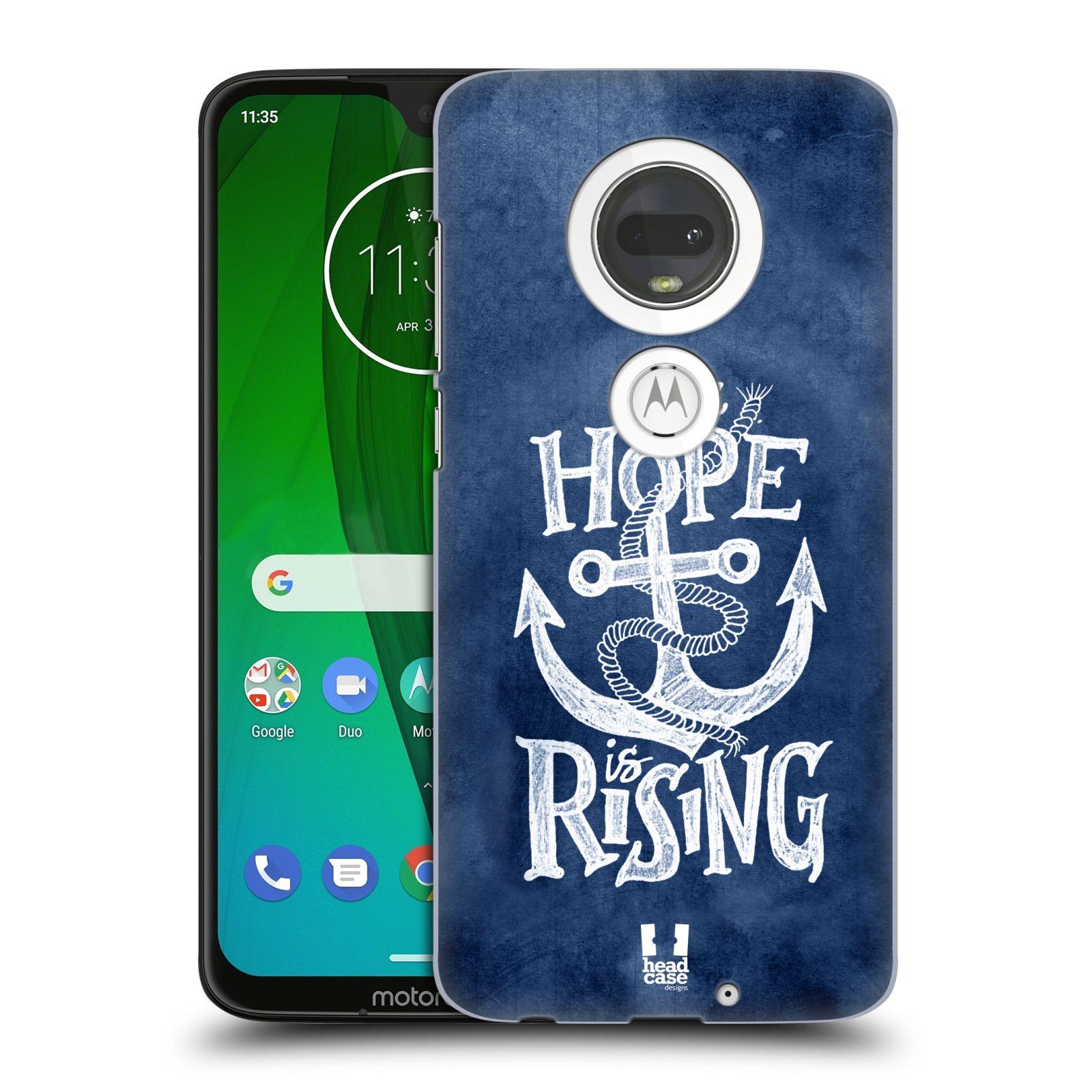 Plastové pouzdro na mobil Motorola Moto G7 - Head Case - KOTVA RISING