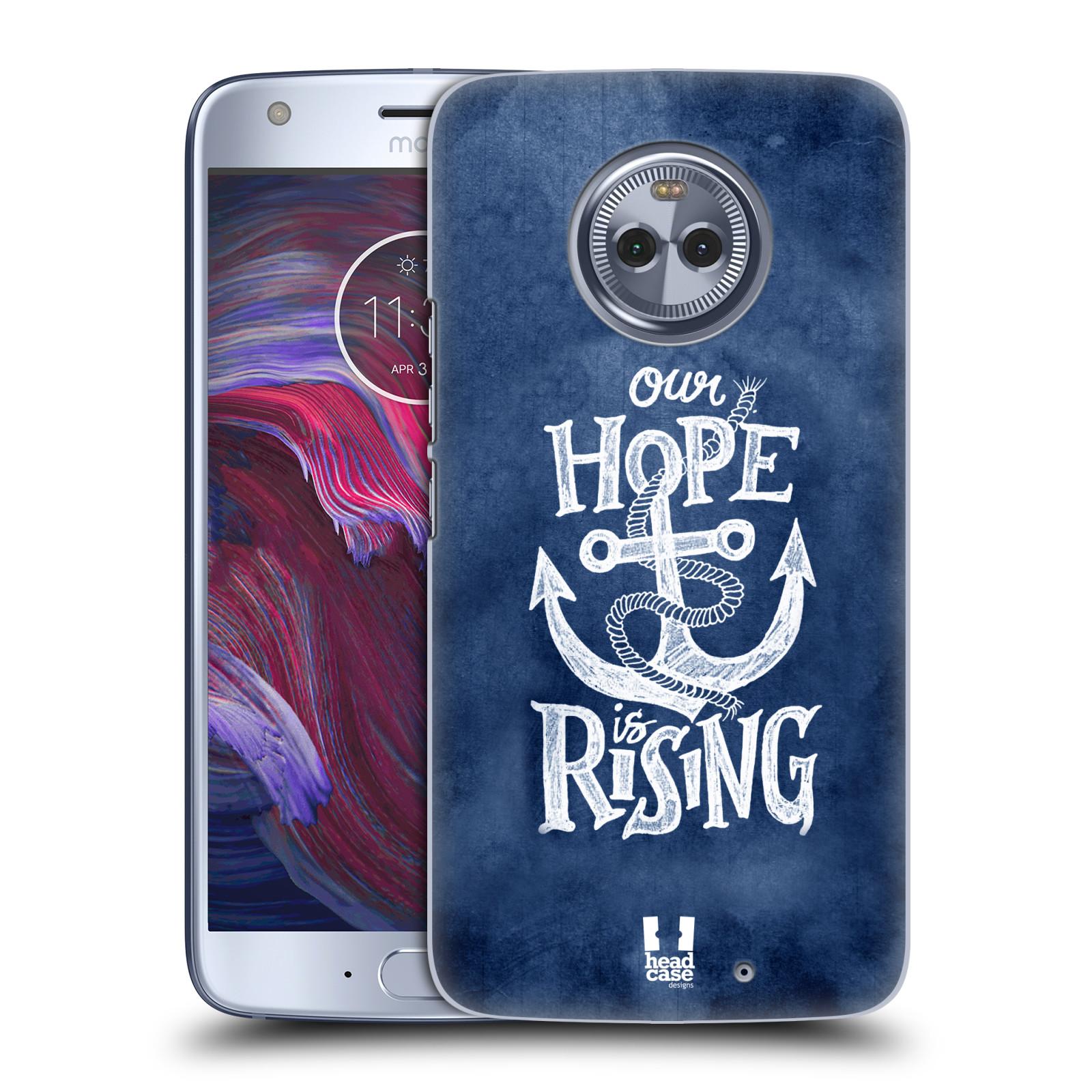 Plastové pouzdro na mobil Lenovo Moto X4 - Head Case - KOTVA RISING