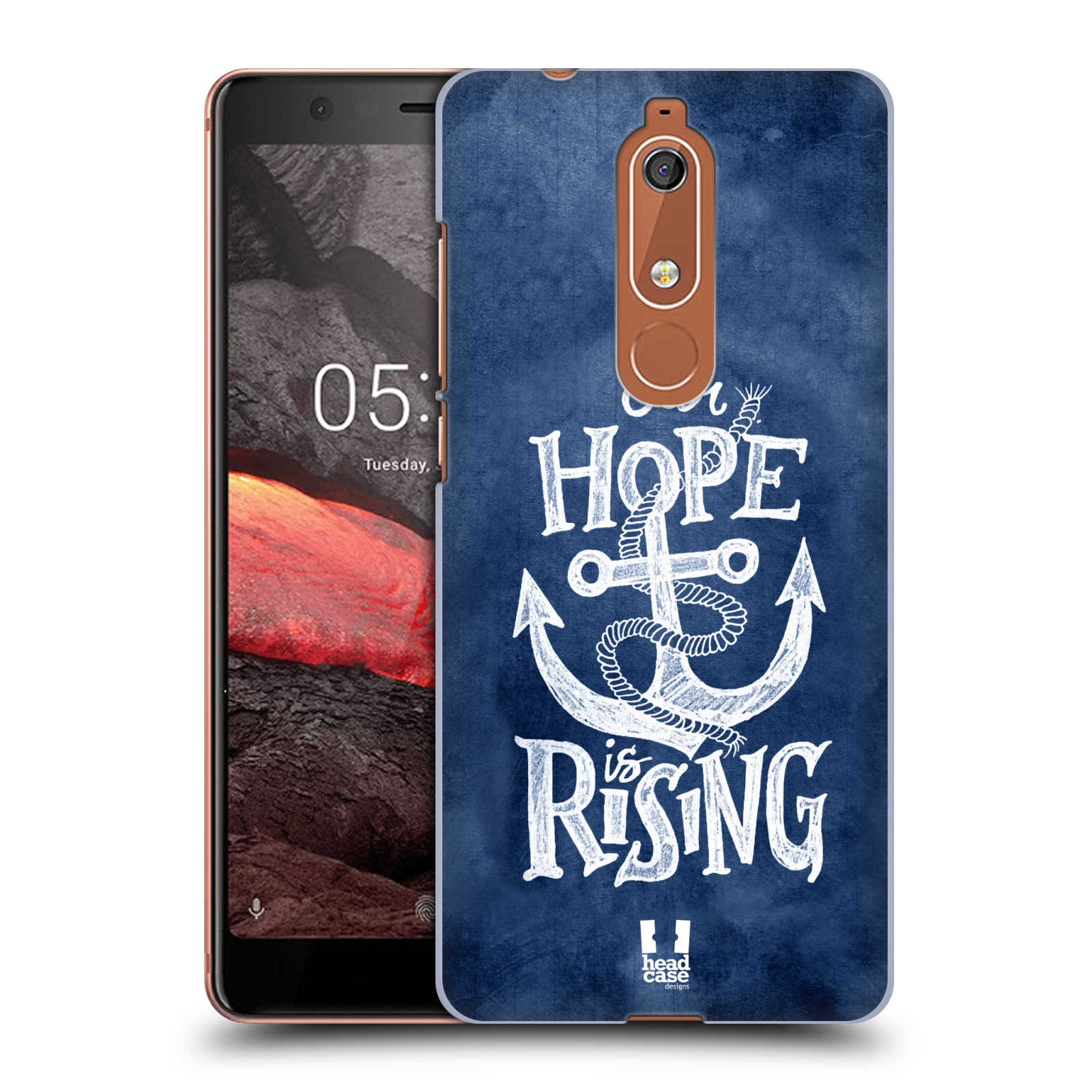 Plastové pouzdro na mobil Nokia 5.1 - Head Case - KOTVA RISING