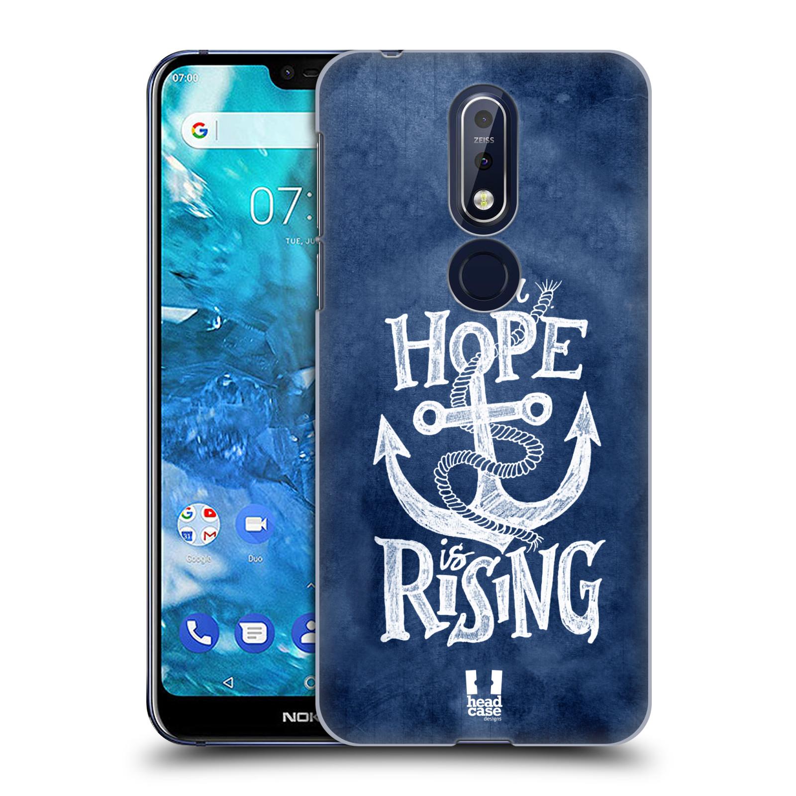Plastové pouzdro na mobil Nokia 7.1 - Head Case - KOTVA RISING