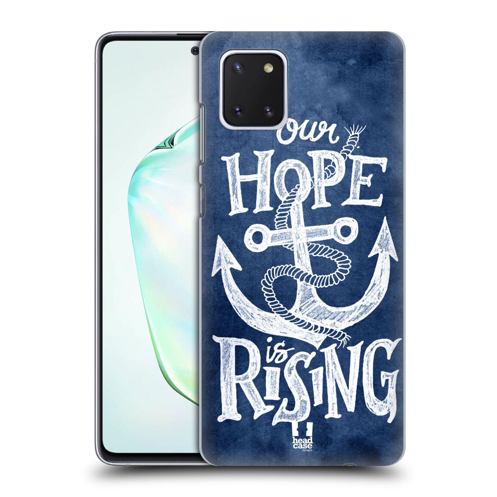 Plastové pouzdro na mobil Samsung Galaxy Note 10 Lite - Head Case - KOTVA RISING