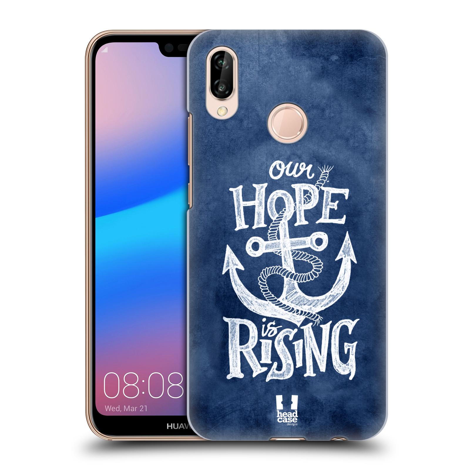 Plastové pouzdro na mobil Huawei P20 Lite - Head Case - KOTVA RISING