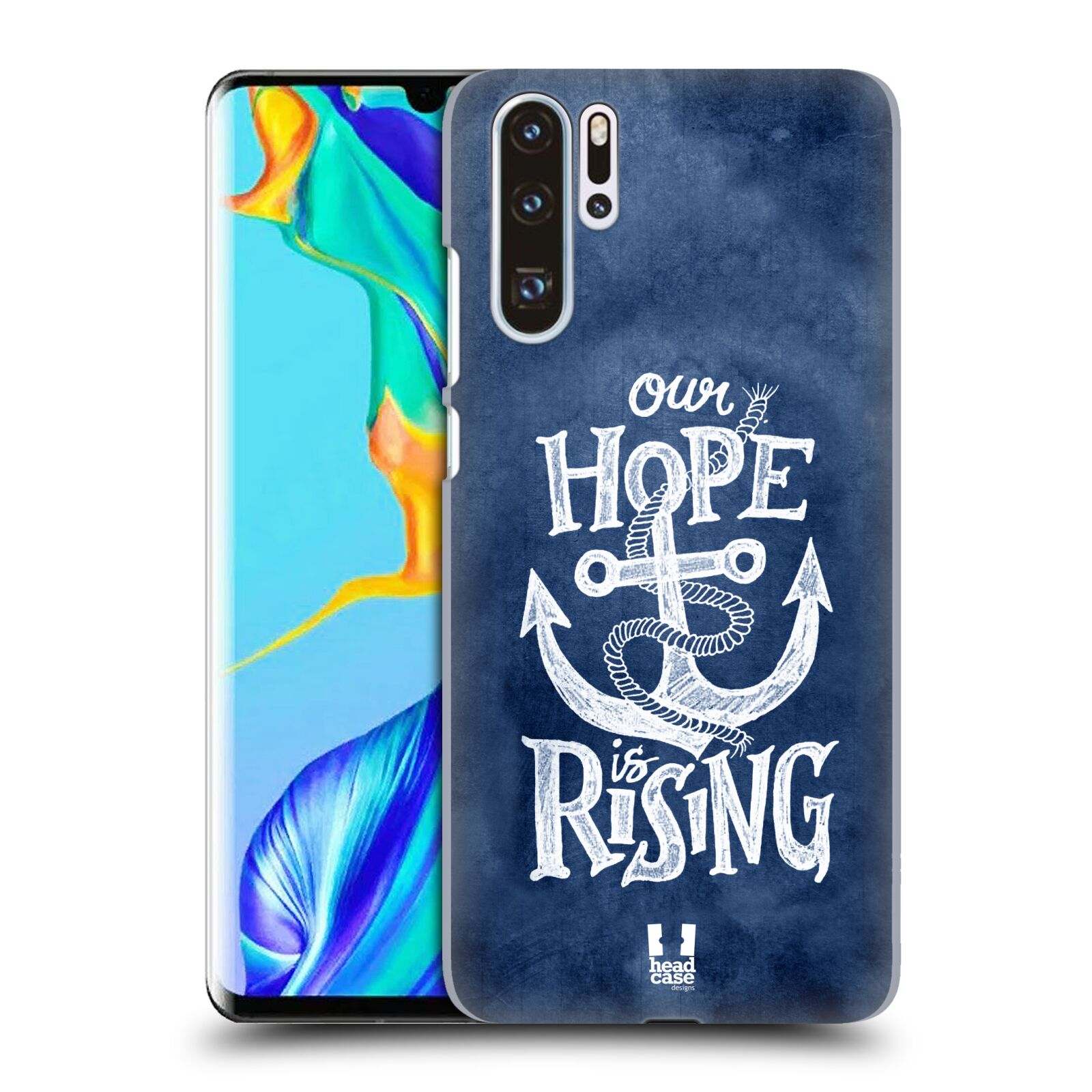 Plastové pouzdro na mobil Huawei P30 Pro - Head Case - KOTVA RISING