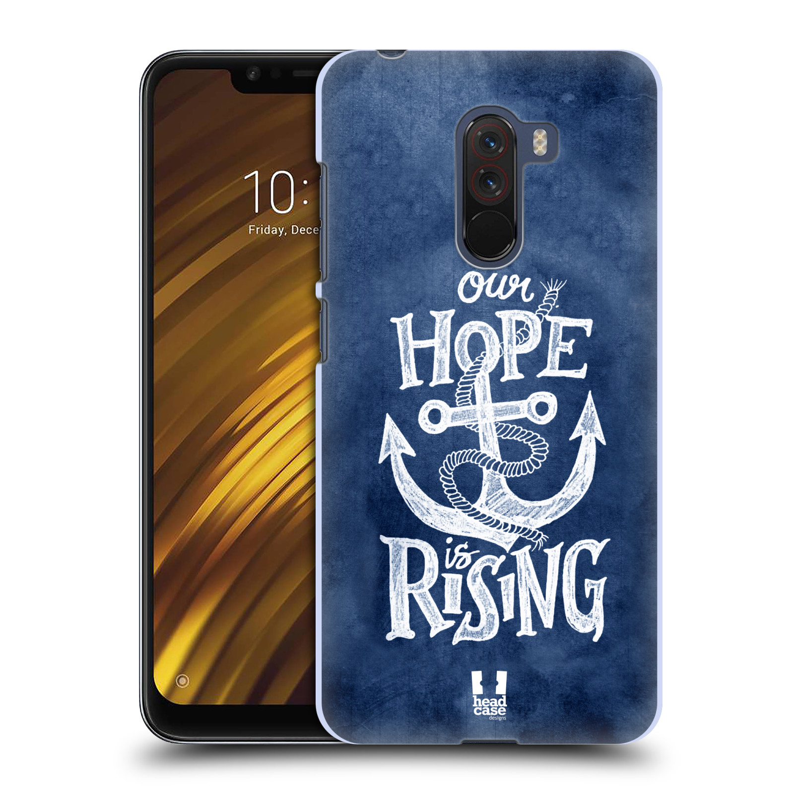 Plastové pouzdro na mobil Xiaomi Pocophone F1 - Head Case - KOTVA RISING