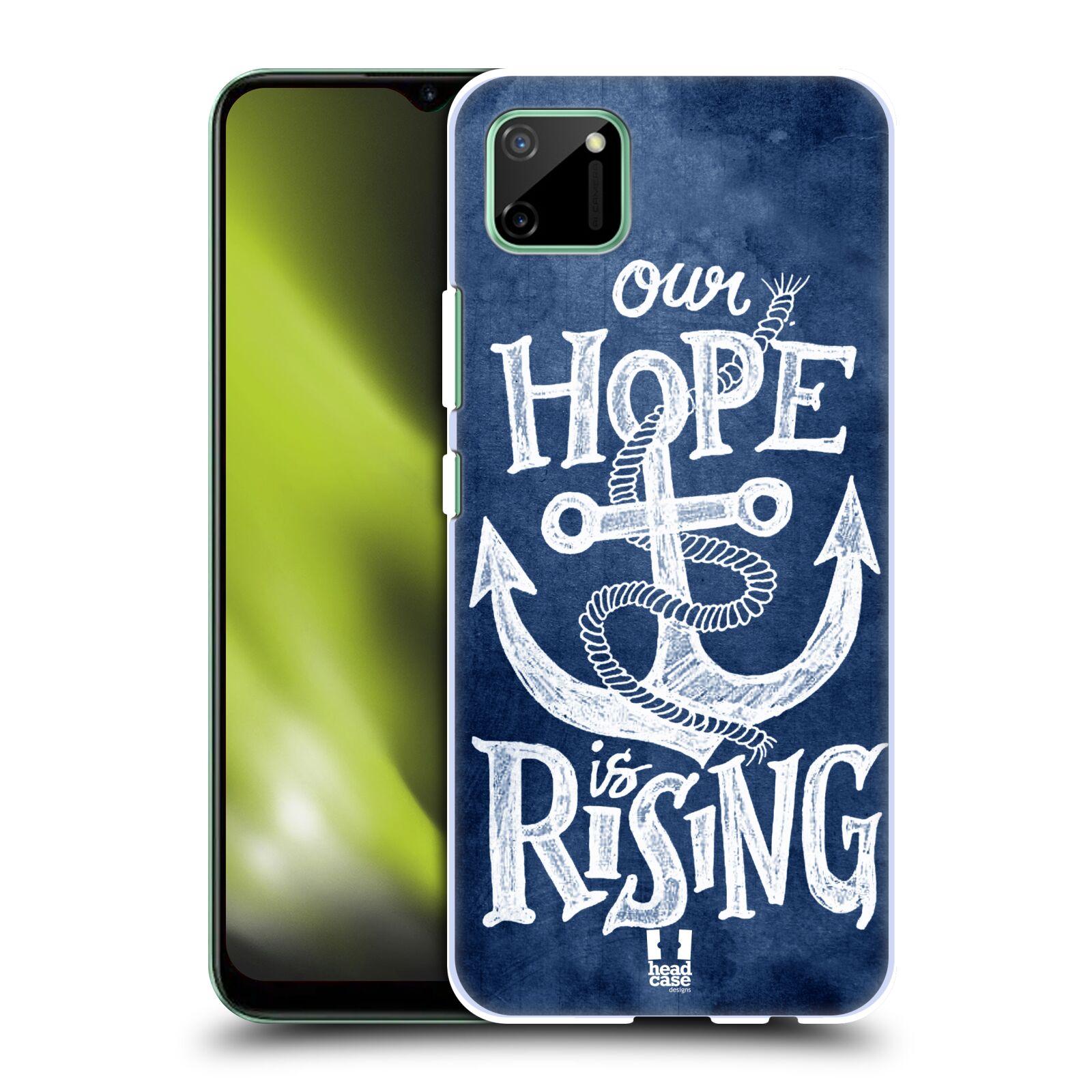 Plastové pouzdro na mobil Realme C11 - Head Case - KOTVA RISING