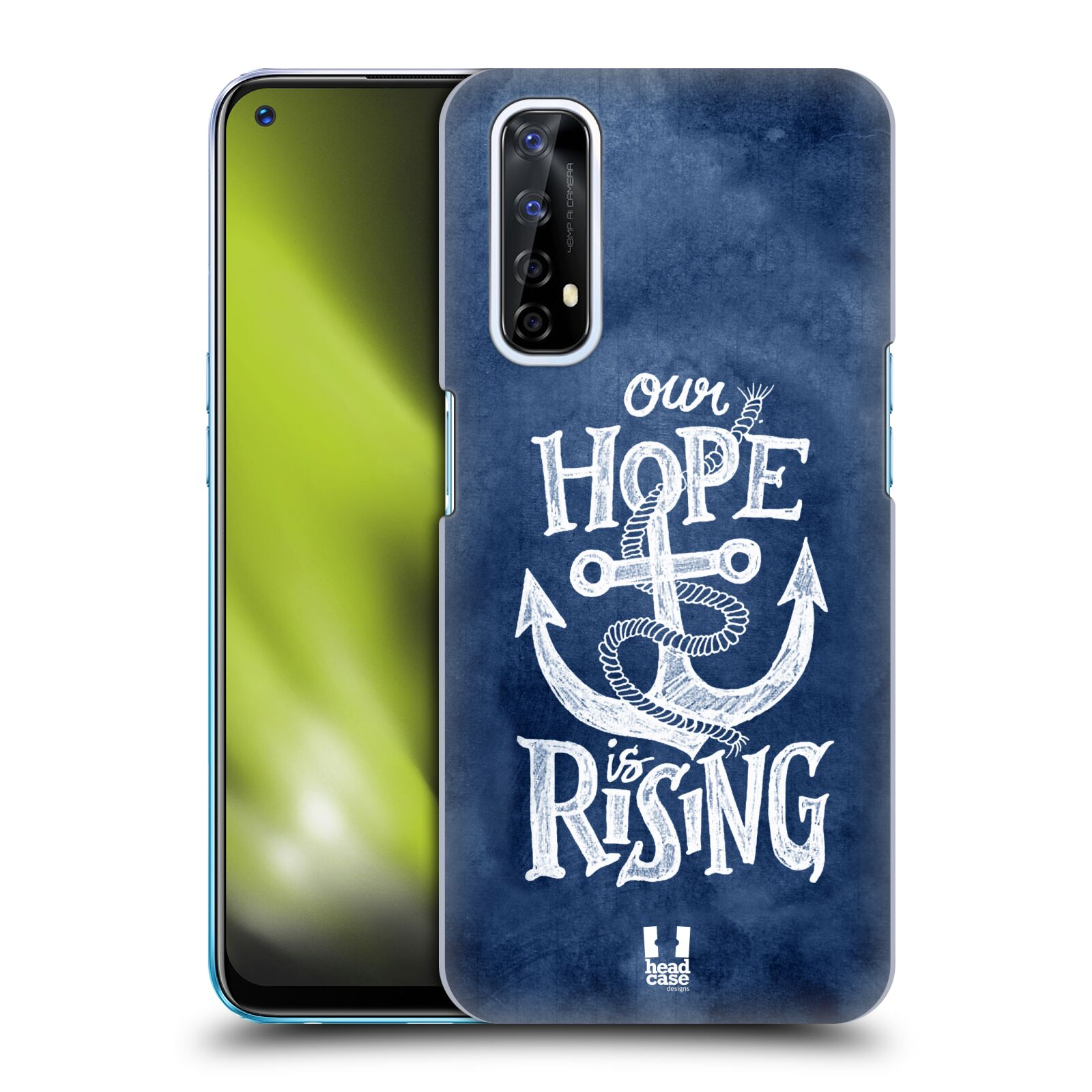 Plastové pouzdro na mobil Realme 7 - Head Case - KOTVA RISING
