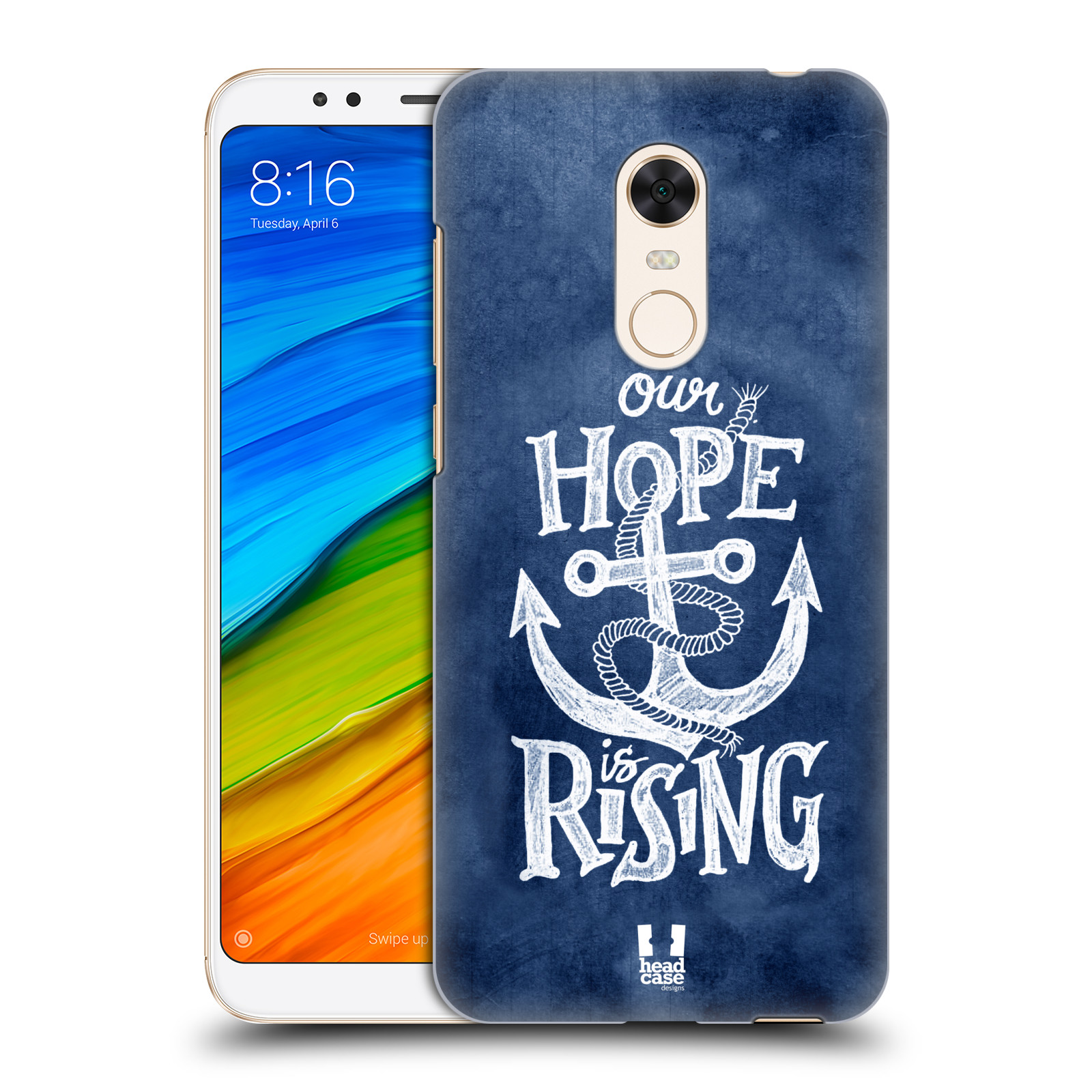 Plastové pouzdro na mobil Xiaomi Redmi 5 Plus - Head Case - KOTVA RISING