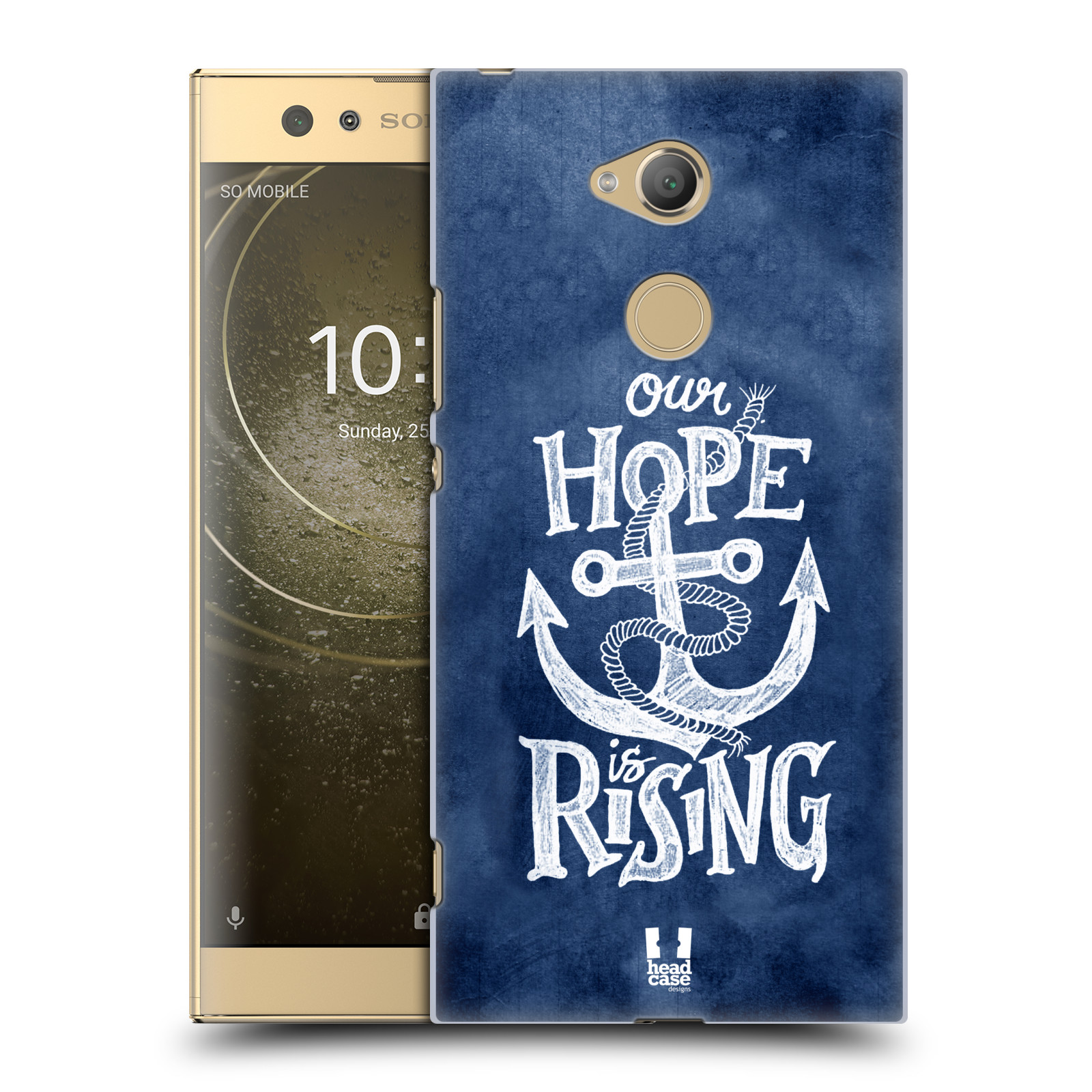 Plastové pouzdro na mobil Sony Xperia XA2 Ultra - Head Case - KOTVA RISING