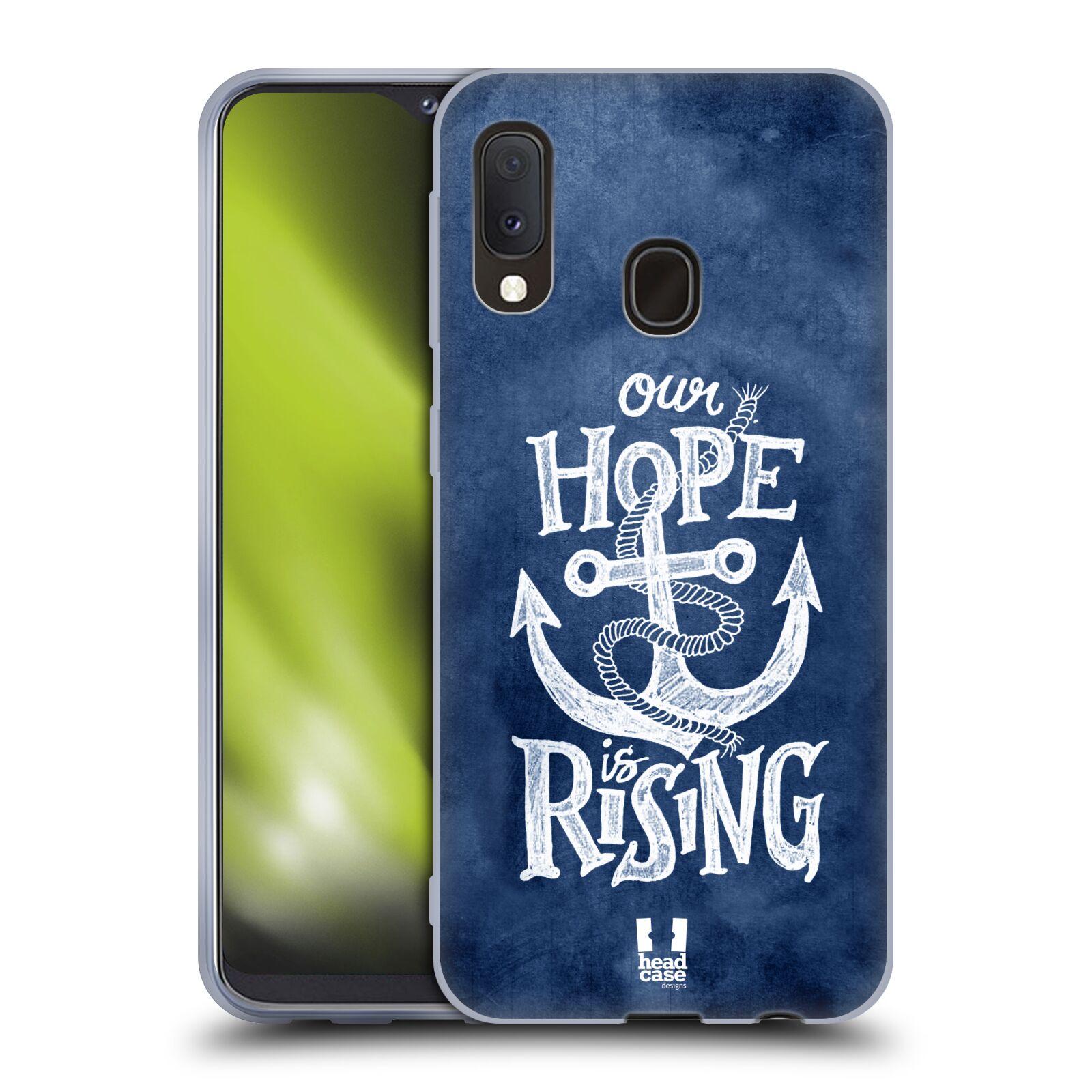 Silikonové pouzdro na mobil Samsung Galaxy A20e - Head Case - KOTVA RISING