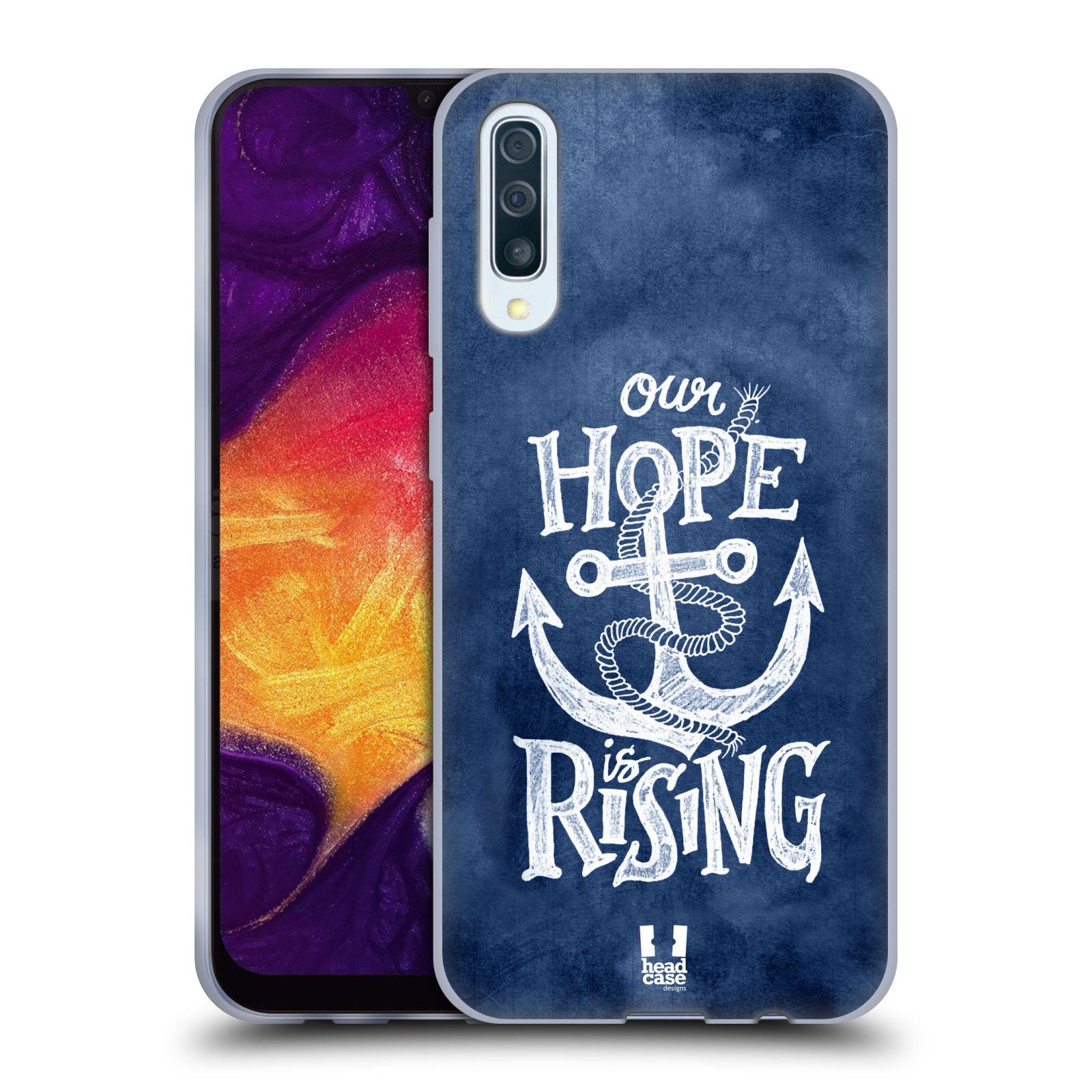 Silikonové pouzdro na mobil Samsung Galaxy A50 / A30s - Head Case - KOTVA RISING