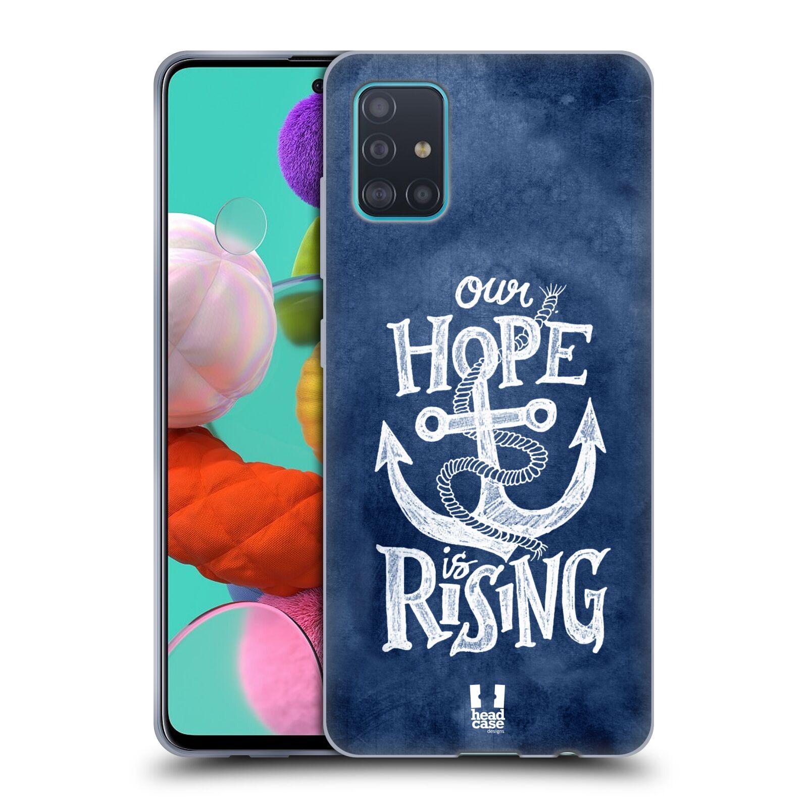 Silikonové pouzdro na mobil Samsung Galaxy A51 - Head Case - KOTVA RISING