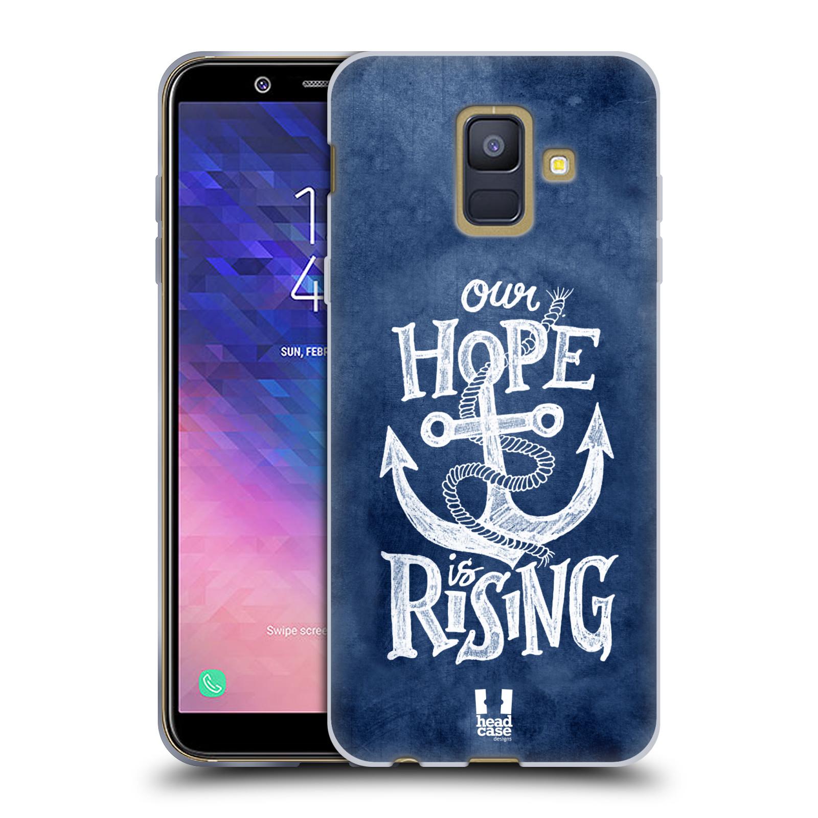 Silikonové pouzdro na mobil Samsung Galaxy A6 (2018) - Head Case - KOTVA RISING