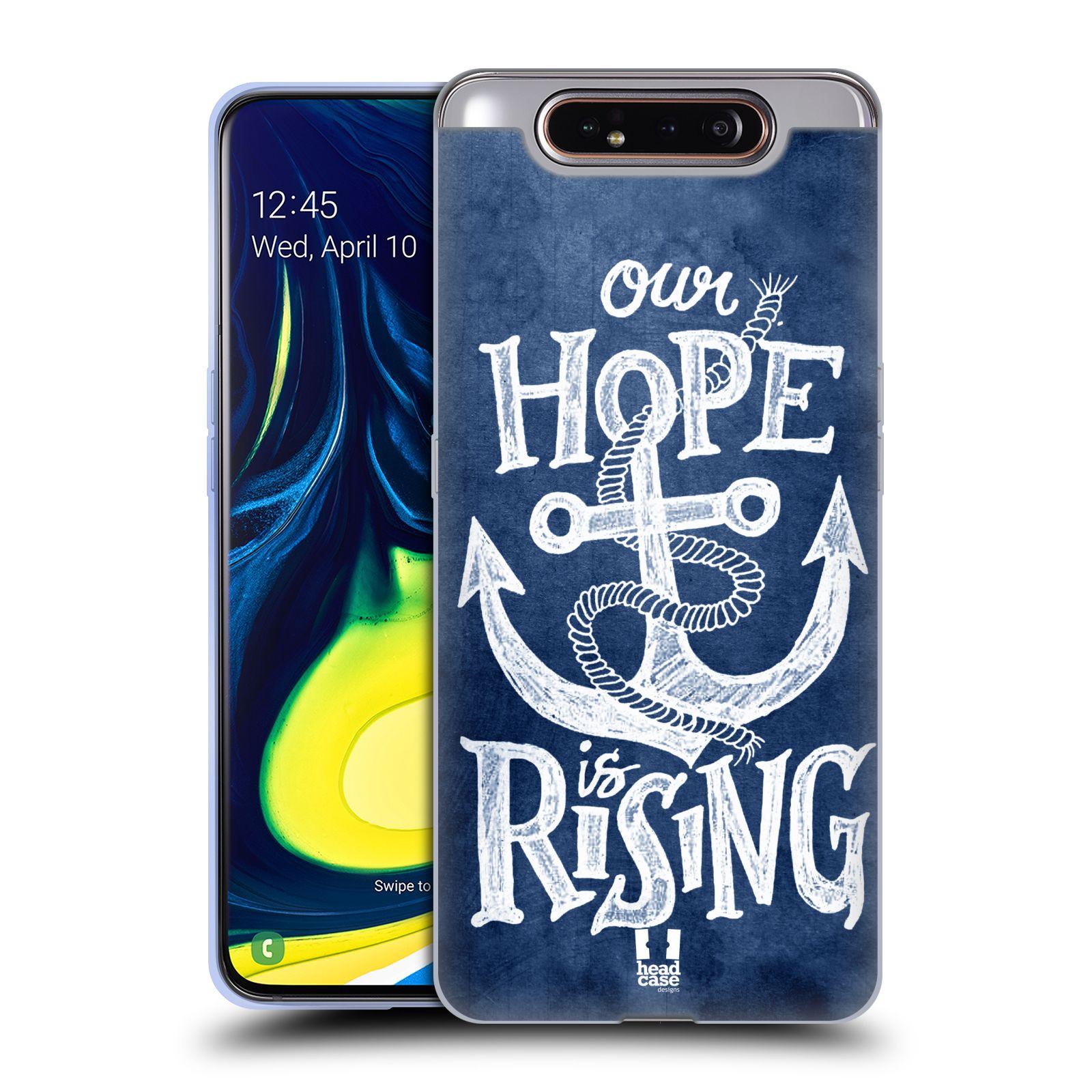 Silikonové pouzdro na mobil Samsung Galaxy A80 - Head Case - KOTVA RISING