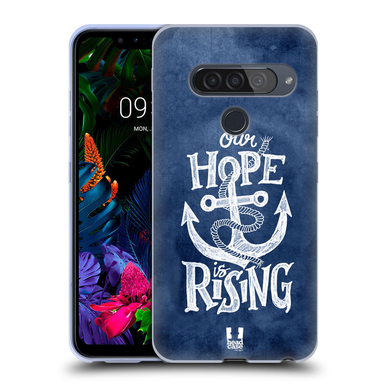 Silikonové pouzdro na mobil LG G8s ThinQ - Head Case - KOTVA RISING